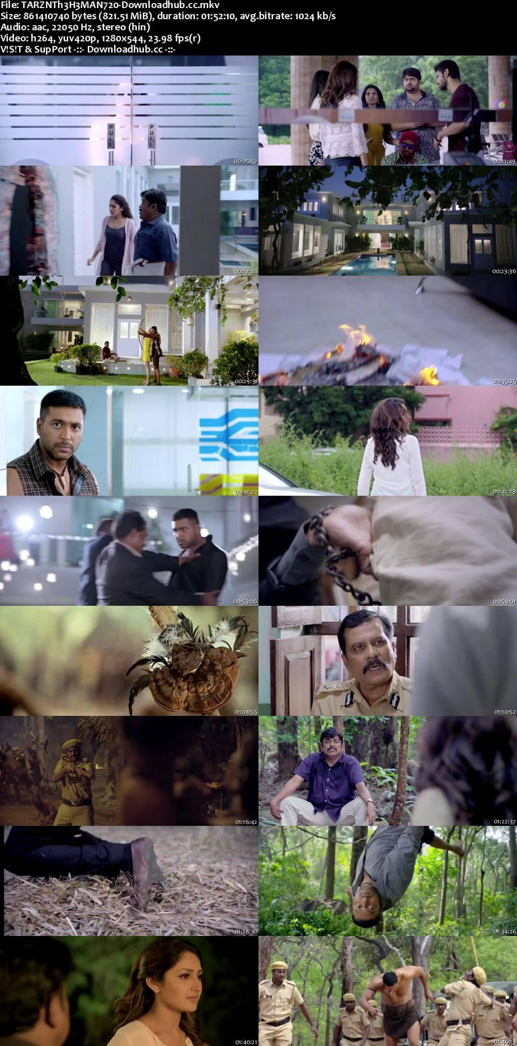 Tarzan The He Man 2018 Hindi Dubbed 720p HDRip