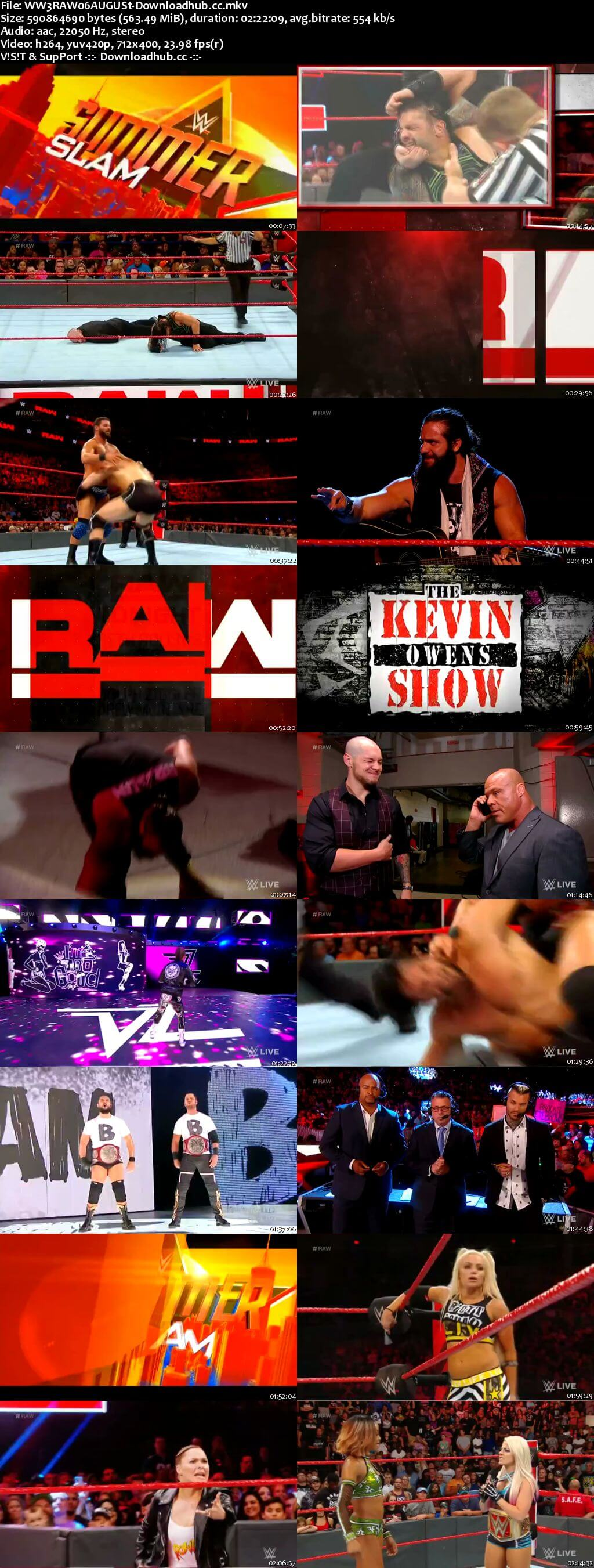 Wwe monday night raw 06 august 2018 480p hdtv download - Monday night raw images ...