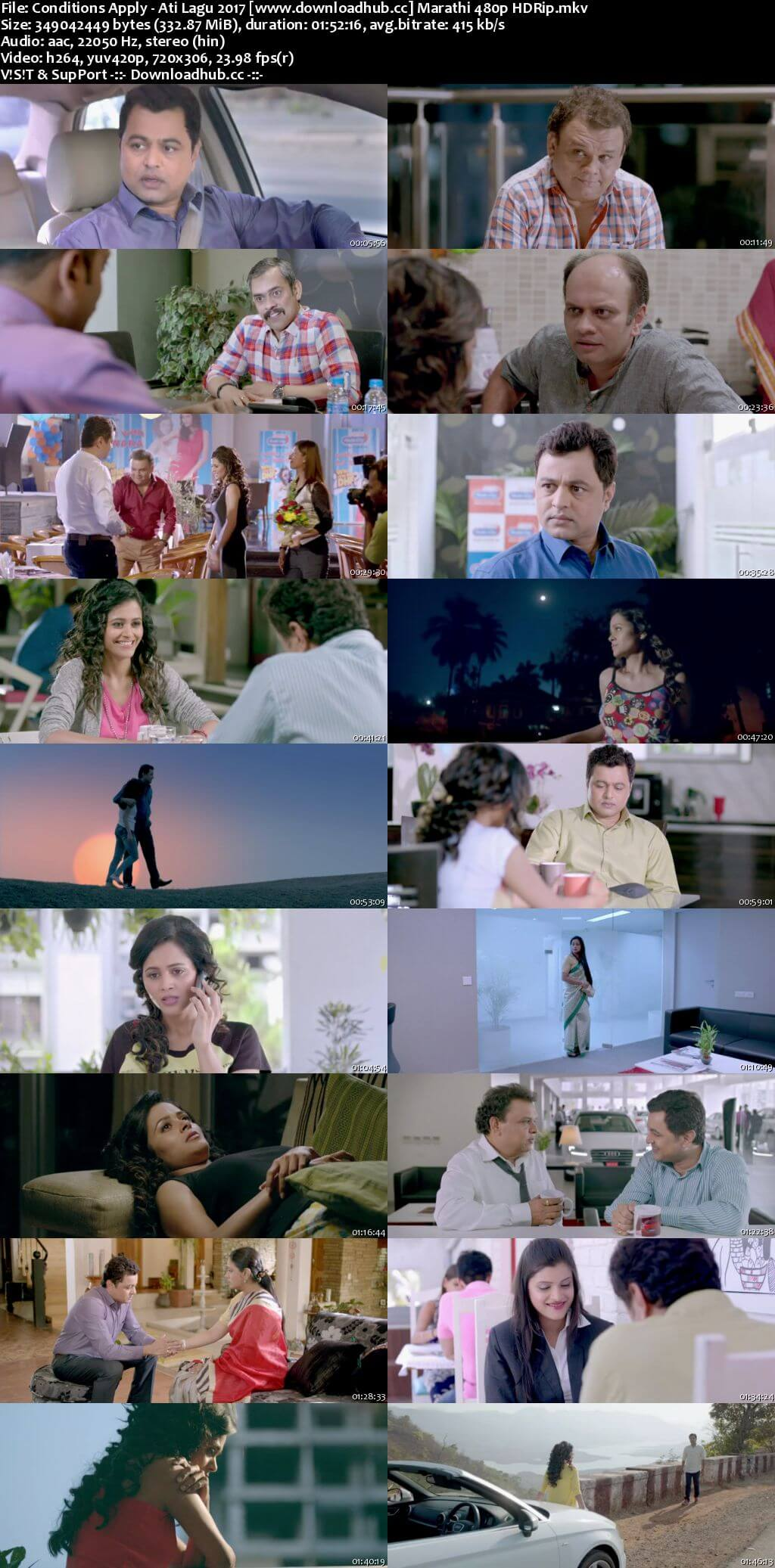 Conditions Apply Ati Lagu 2017 Marathi 300MB HDRip 480p ESubs