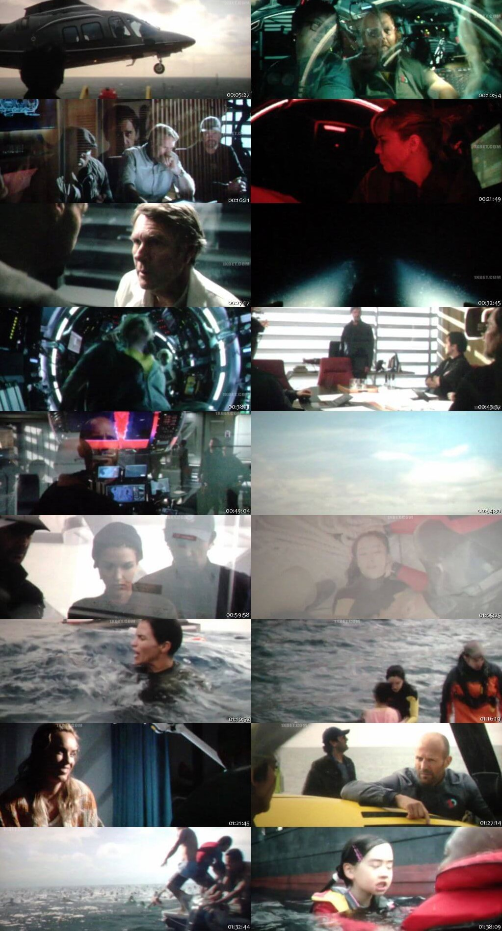 The Meg 2018 Dual Audio Hindi HDCam Full Movie Download HD