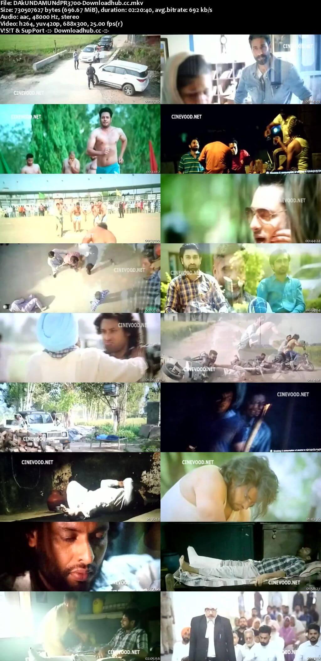 Dakuaan Da Munda 2018 Punjabi 7000MB Pre-DVDRip x264