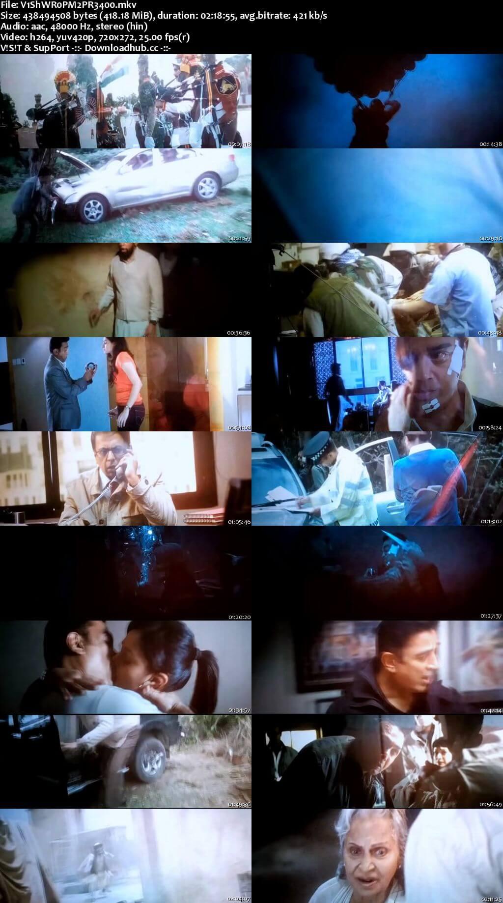 Vishwaroopam 2 2018 Hindi 400MB Pre-DVDRip 480p