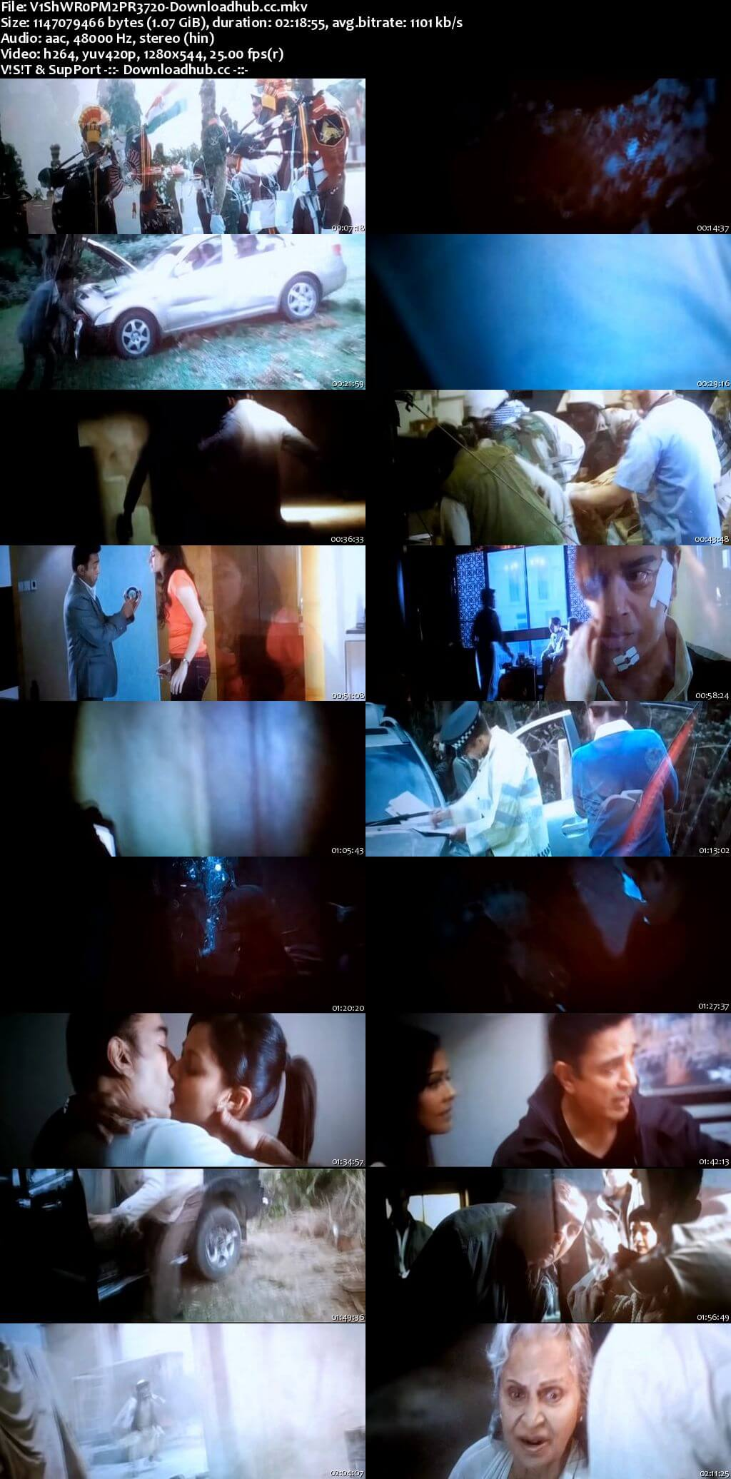 Vishwaroopam 2 2018 Hindi 720p Pre-DVDRip x264