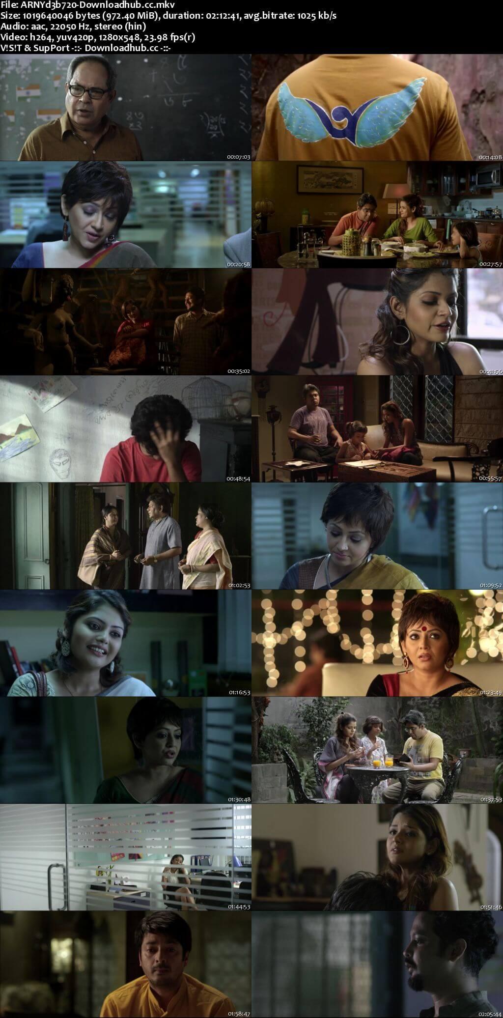 Aranyadeb 2017 Hindi Dubbed 720p HDRip