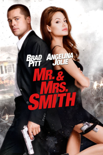 Mr. & Mrs. Smith 2005 Dual Audio [Hindi – English] 720p 1.3GB BluRay