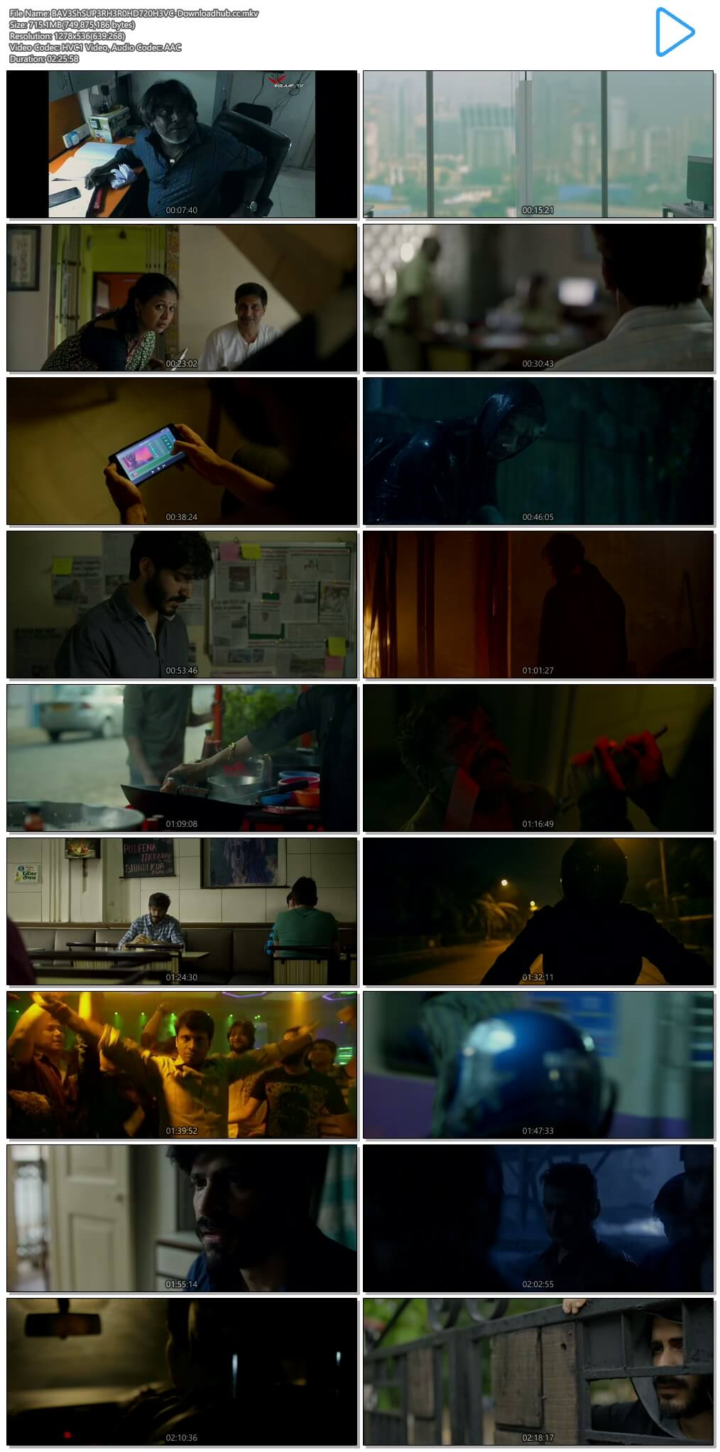 Bhavesh Joshi Superhero 2018 Hindi 700MB HDRip 720p HEVC