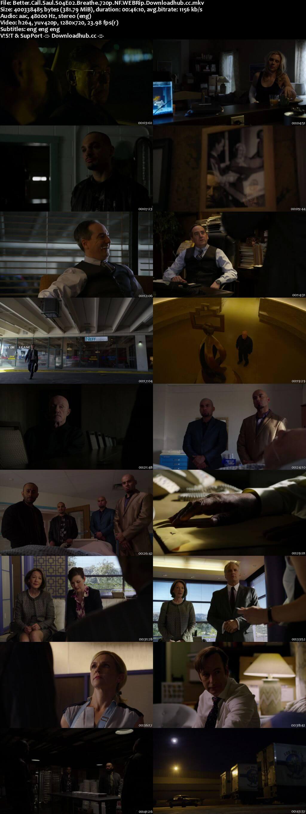Better Call Saul S04E02 380MB WEB-DL 720p x264 MSubs