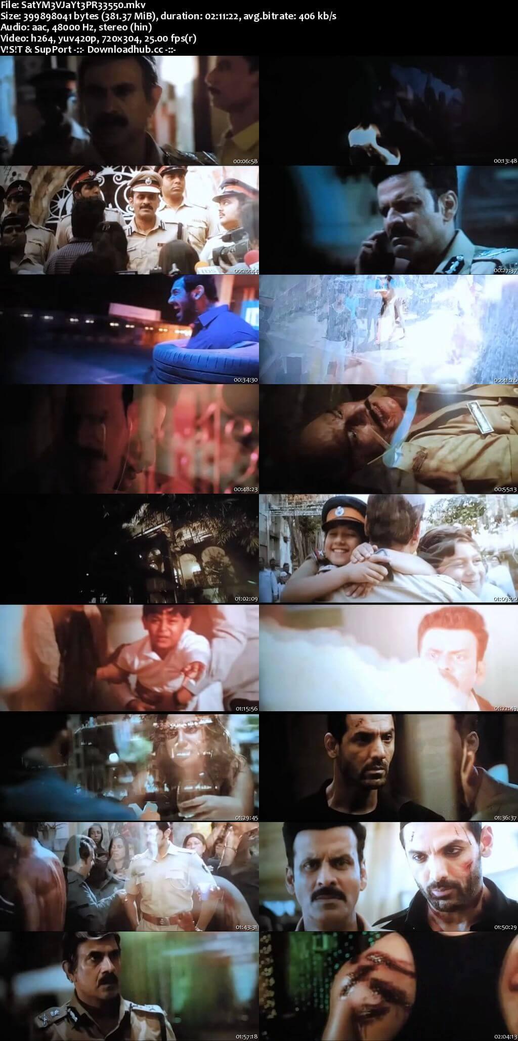 Satyameva Jayate 2018 Hindi 350MB Pre-DVDRip 480p