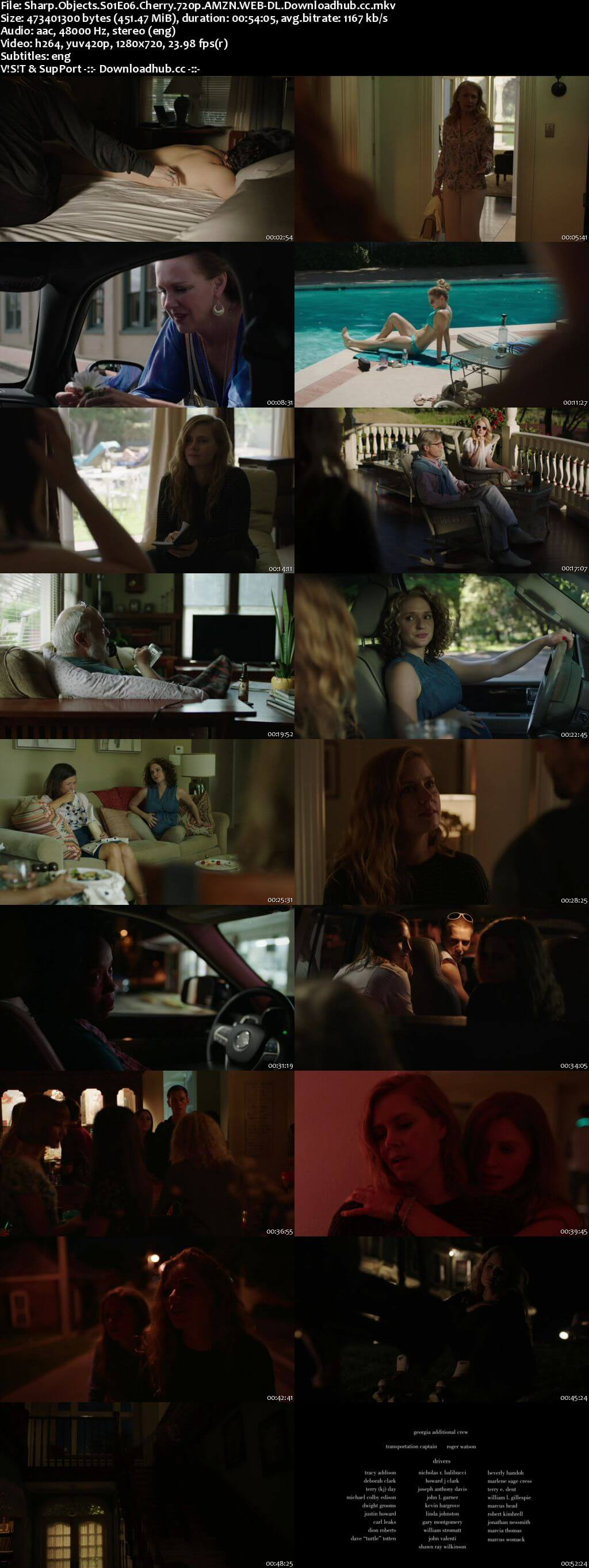 Sharp Objects S01E06 450MB WEB-DL 720p ESubs