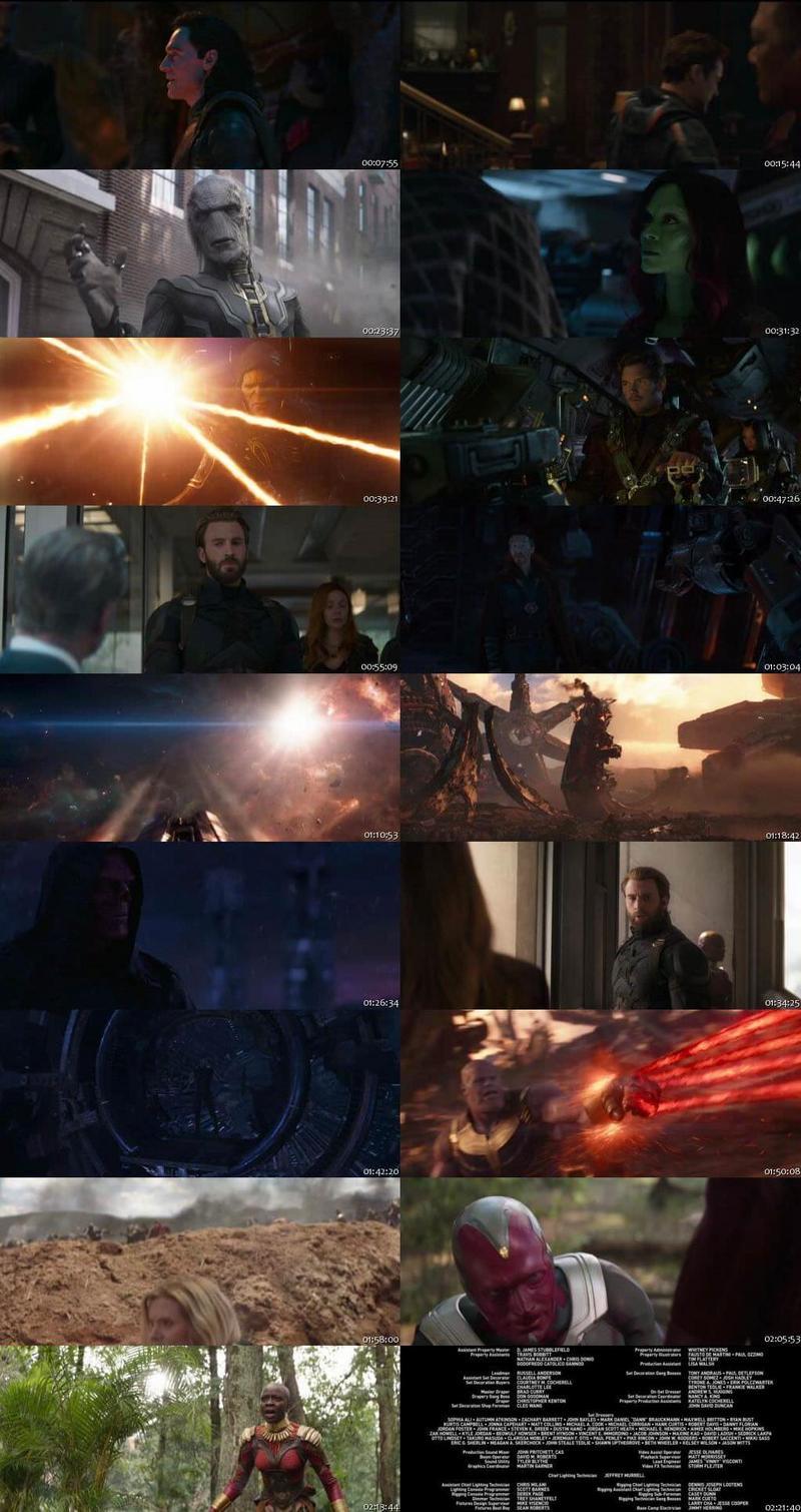 Avengers Infinity War 2018 English Full Movie Download