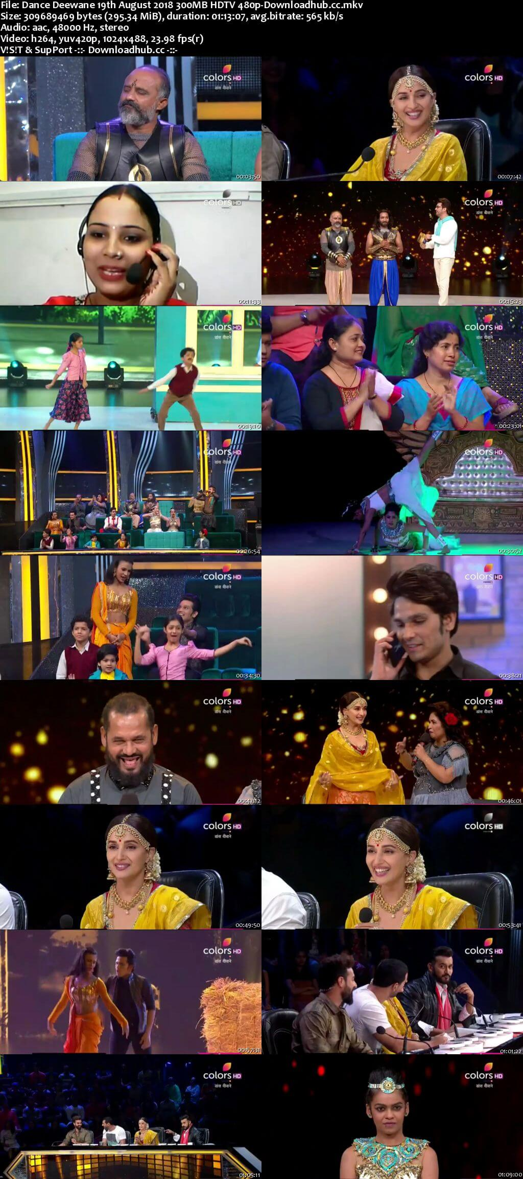 Dance Deewane 19 August 2018 Episode 23 HDTV 480p