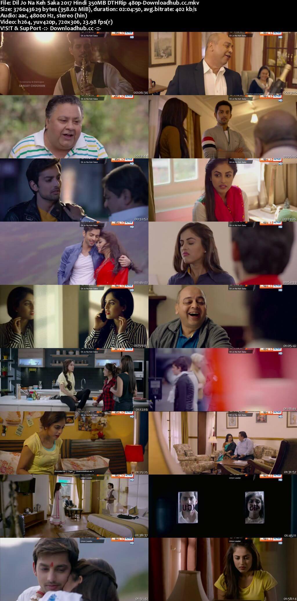 Dil Jo Na Keh Saka 2017 Hindi 350MB DTHRip 480p