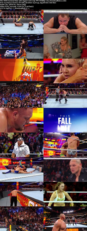 WWE SummerSlam 19th August 2018 720p PPV WEBRip x264