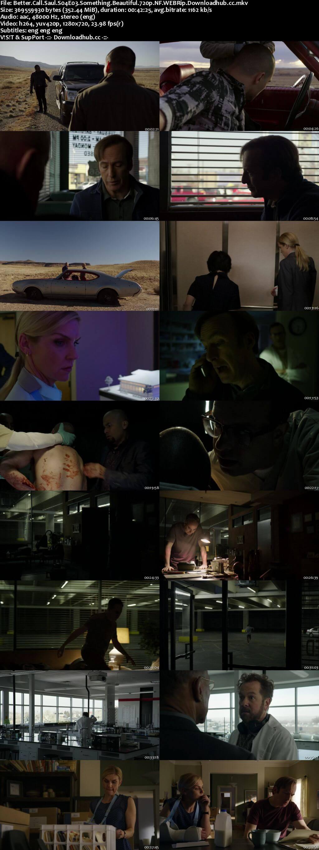 Better Call Saul S04E03 350MB WEB-DL 720p x264 MSubs
