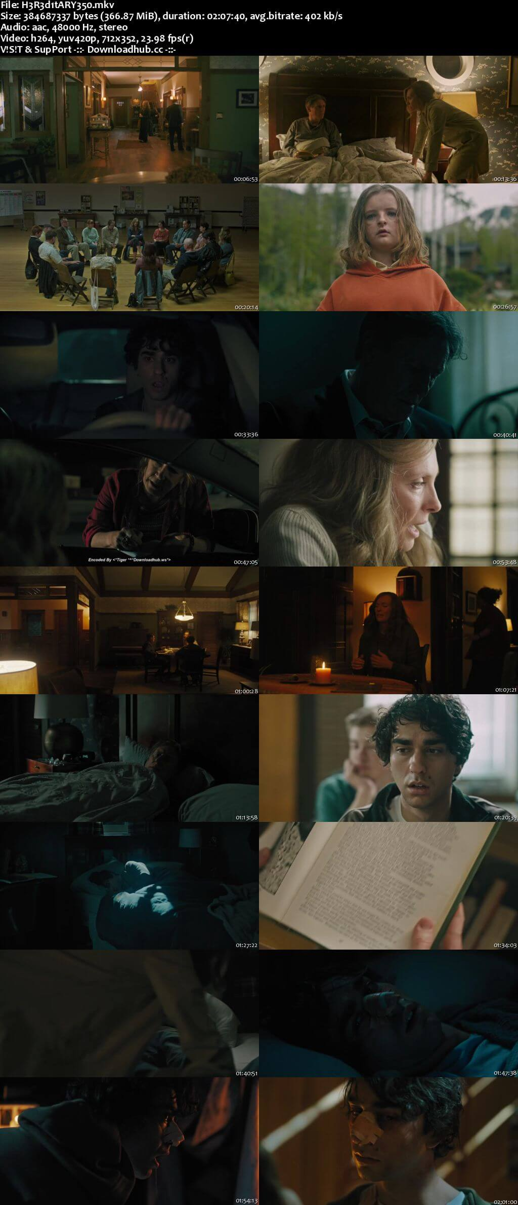 Hereditary 2018 English 350MB Web-DL 480p ESubs