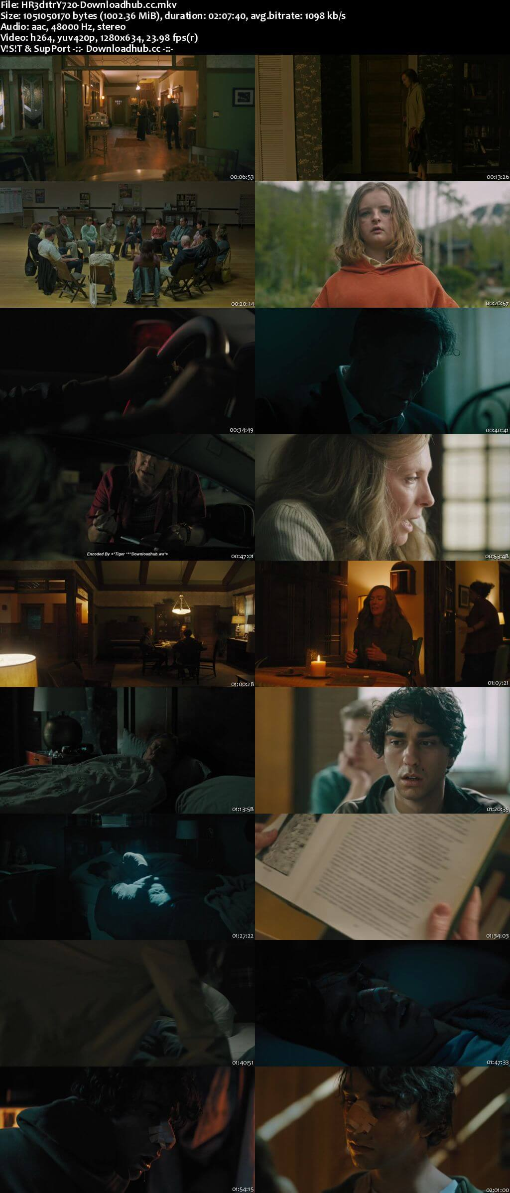 Hereditary 2018 English 720p Web-DL 999MB ESubs