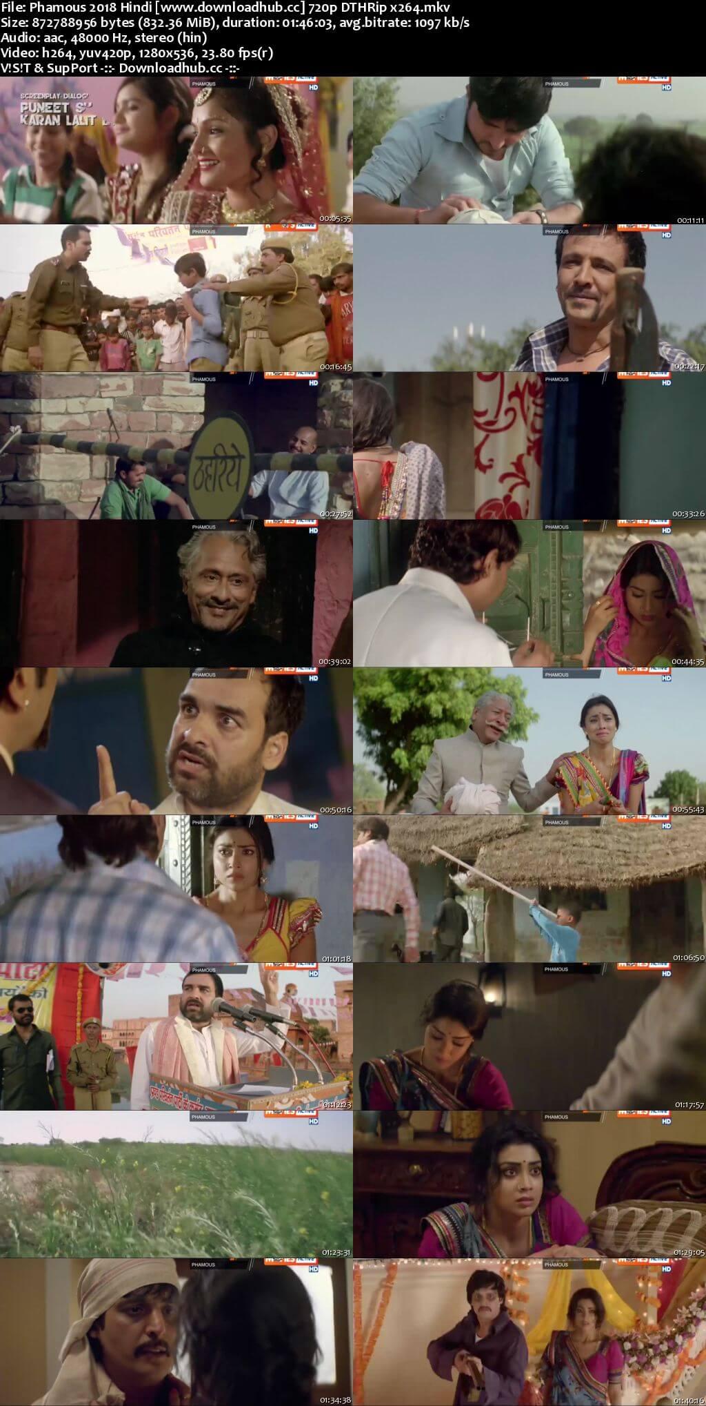 Phamous 2018 Hindi 720p DTHRip