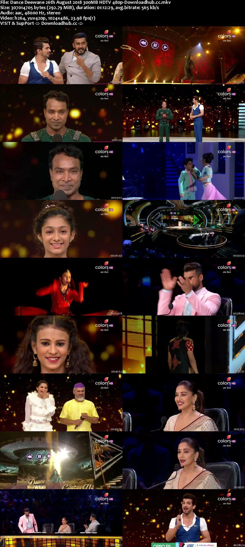 Dance Deewane 26 August 2018 Episode 25 HDTV 480p