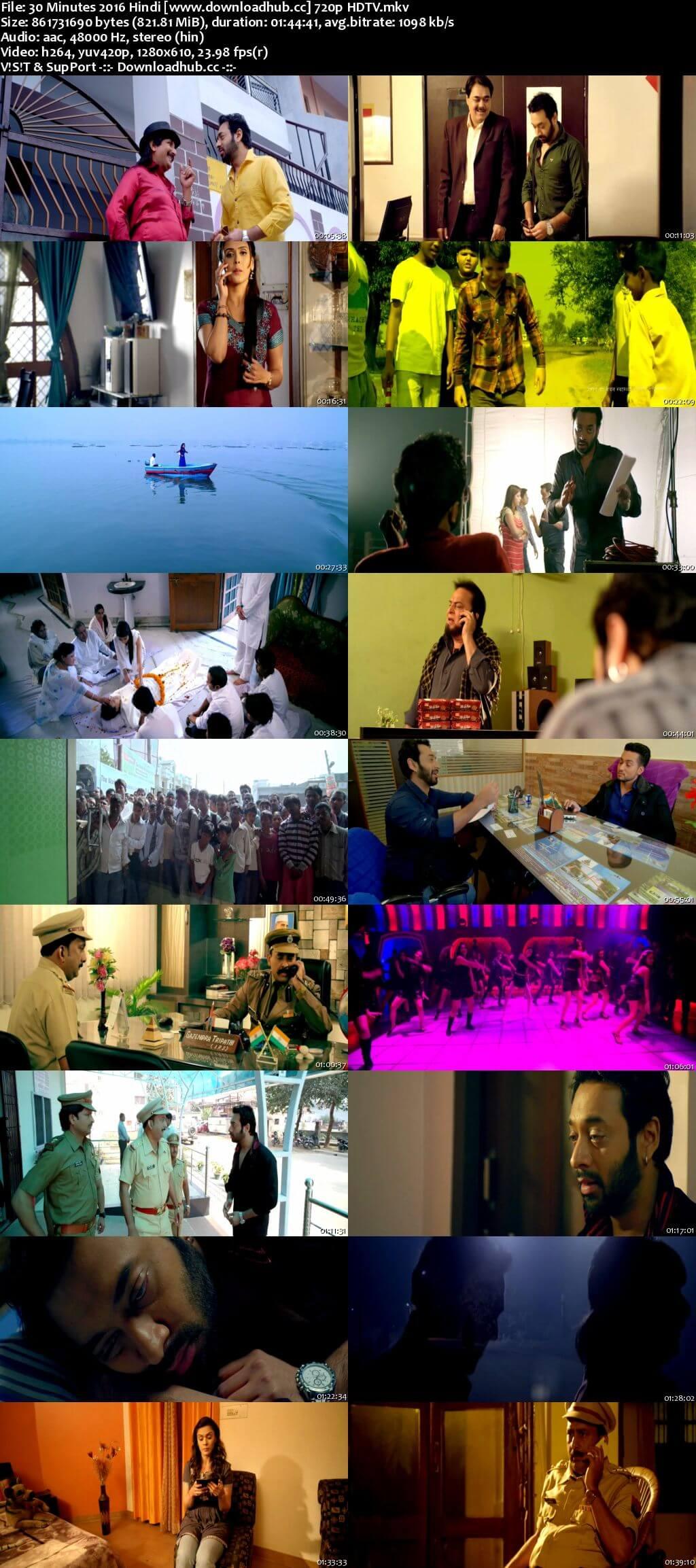 30 Minutes 2016 Hindi 720p HDTV x264