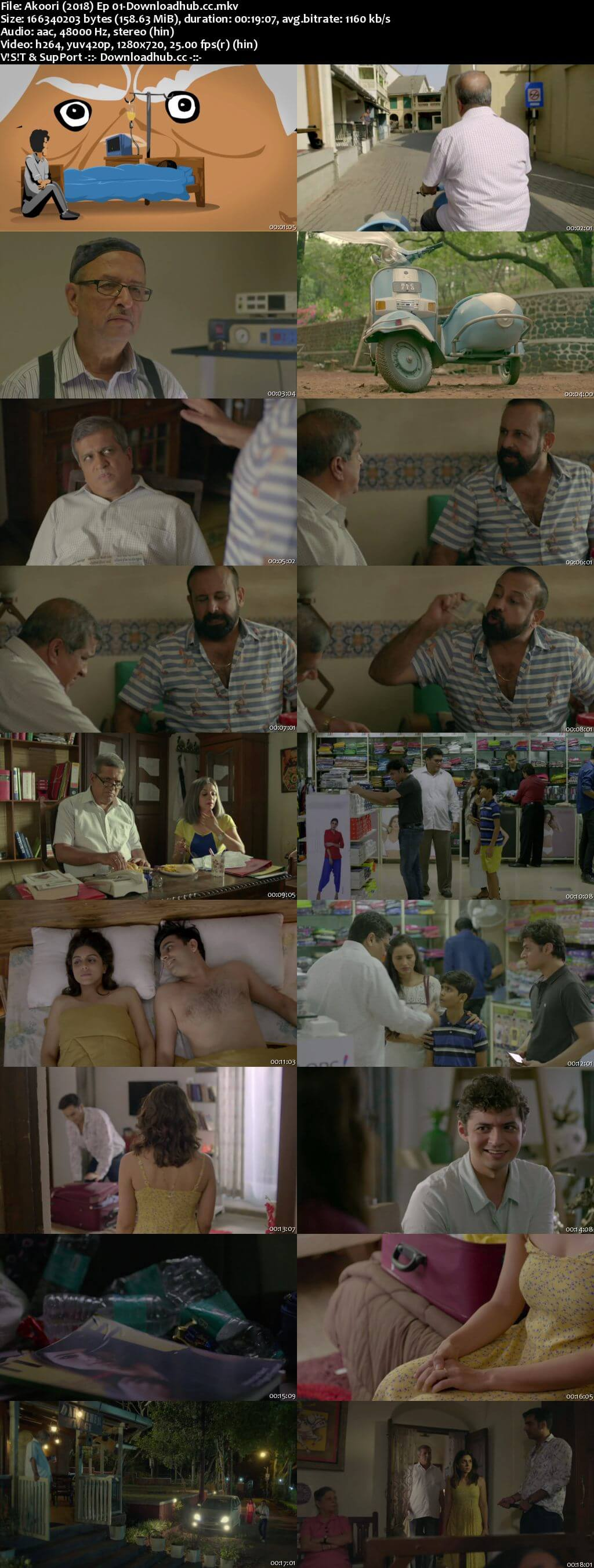Akoori 2018 Hindi Season 01 Complete 720p HDRip x264