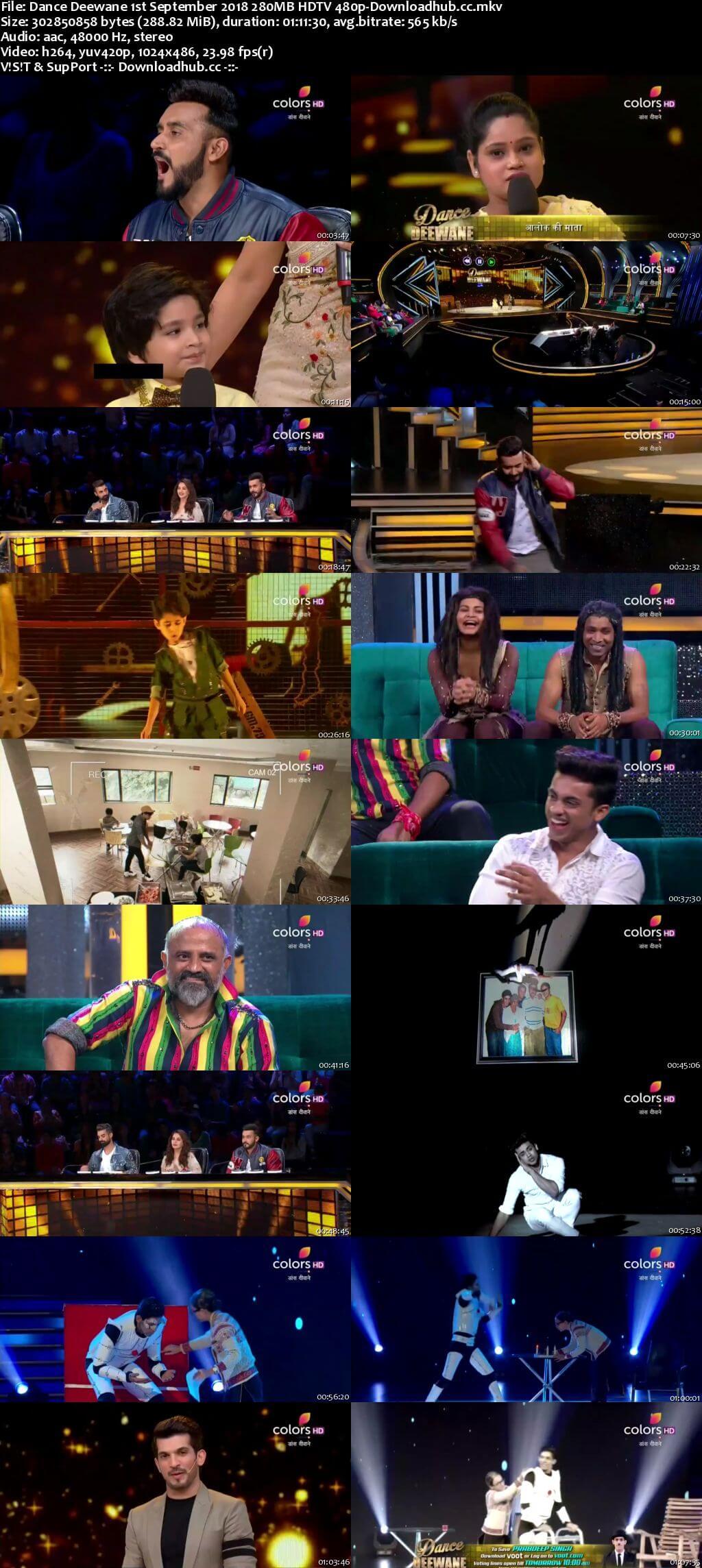 Dance Deewane 01 September 2018 Episode 26 HDTV 480p