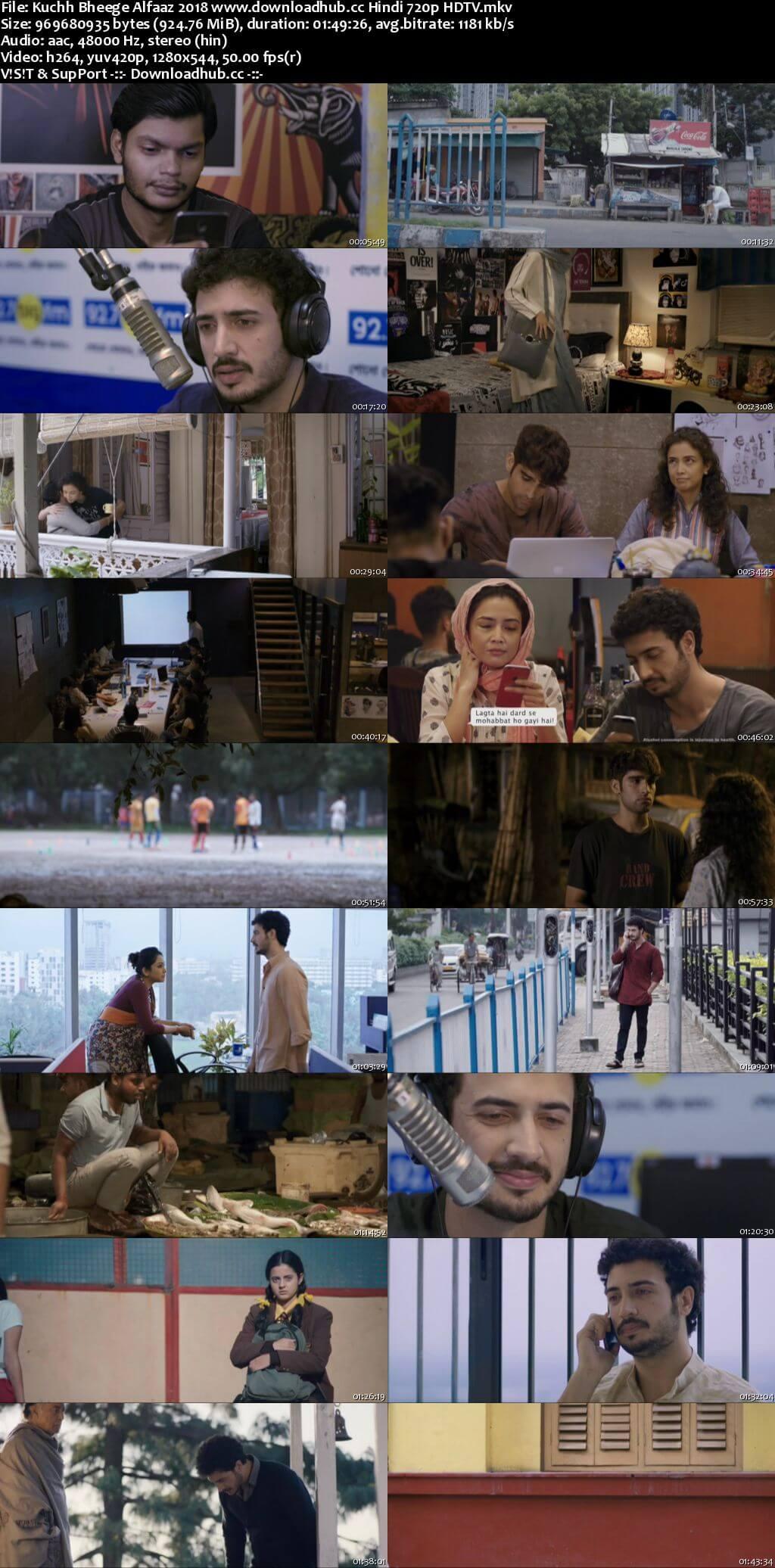 Kuchh Bheege Alfaaz 2018 Hindi 720p HDTV x264