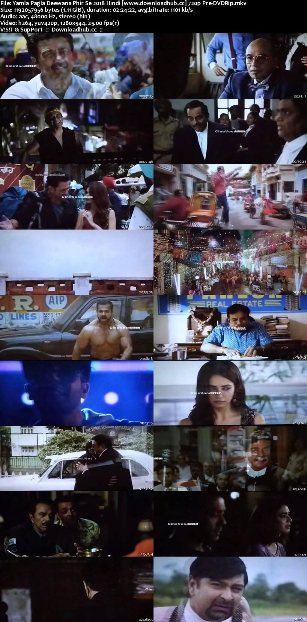 Yamla Pagla Deewana Phir Se 2018 Hindi 720p Pre-DVDRip x264