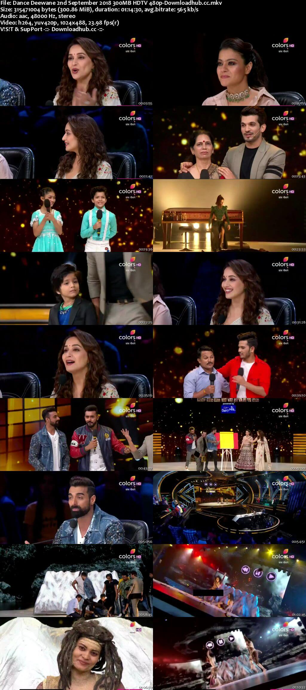 Dance Deewane 02 September 2018 Episode 27 HDTV 480p
