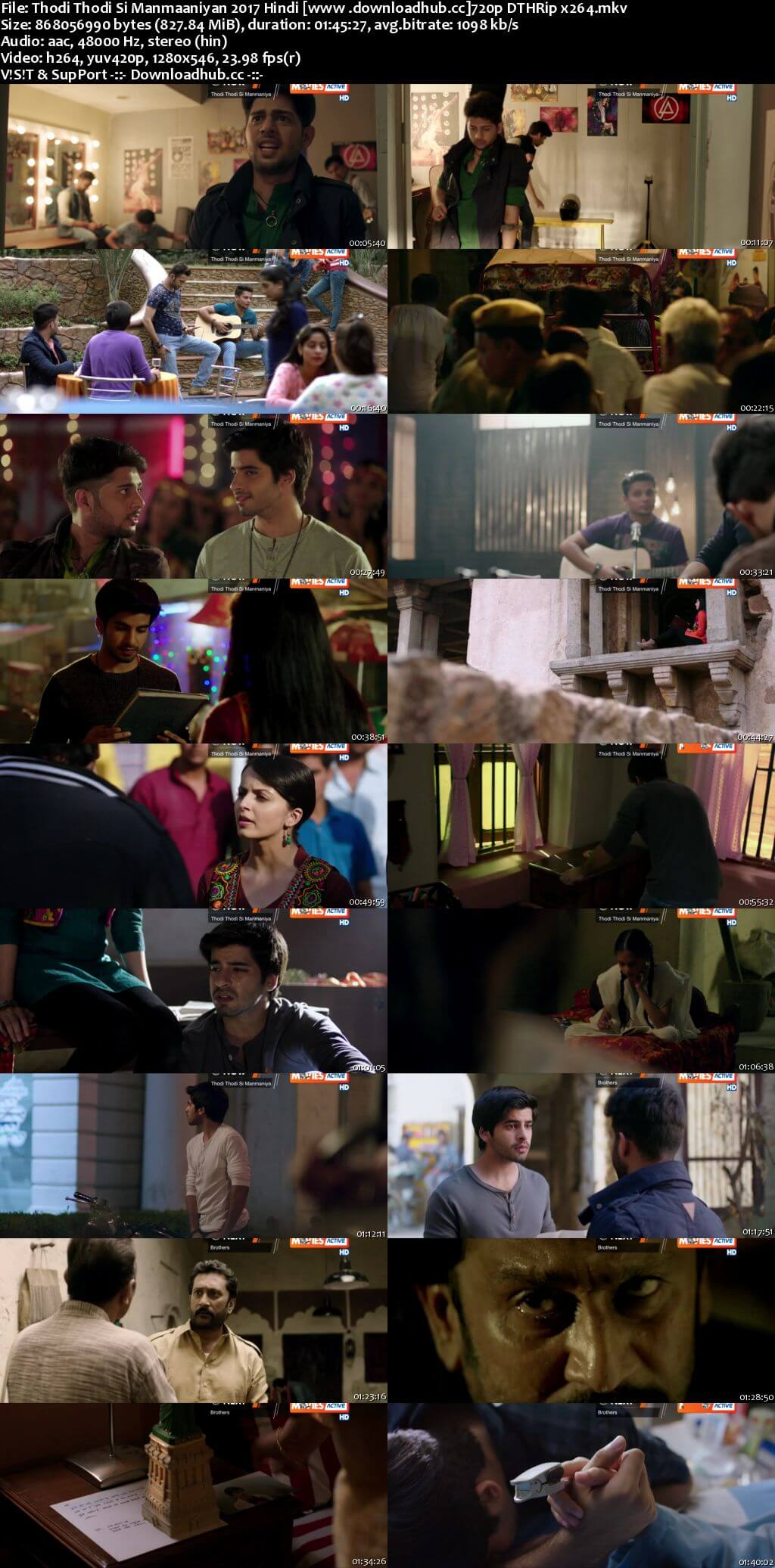 Thodi Thodi Si Manmaaniyan 2017 Hindi 720p DTHRip