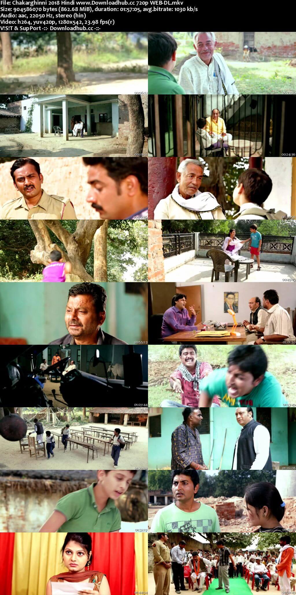 Chakarghinni 2018 Hindi 720p HDRip