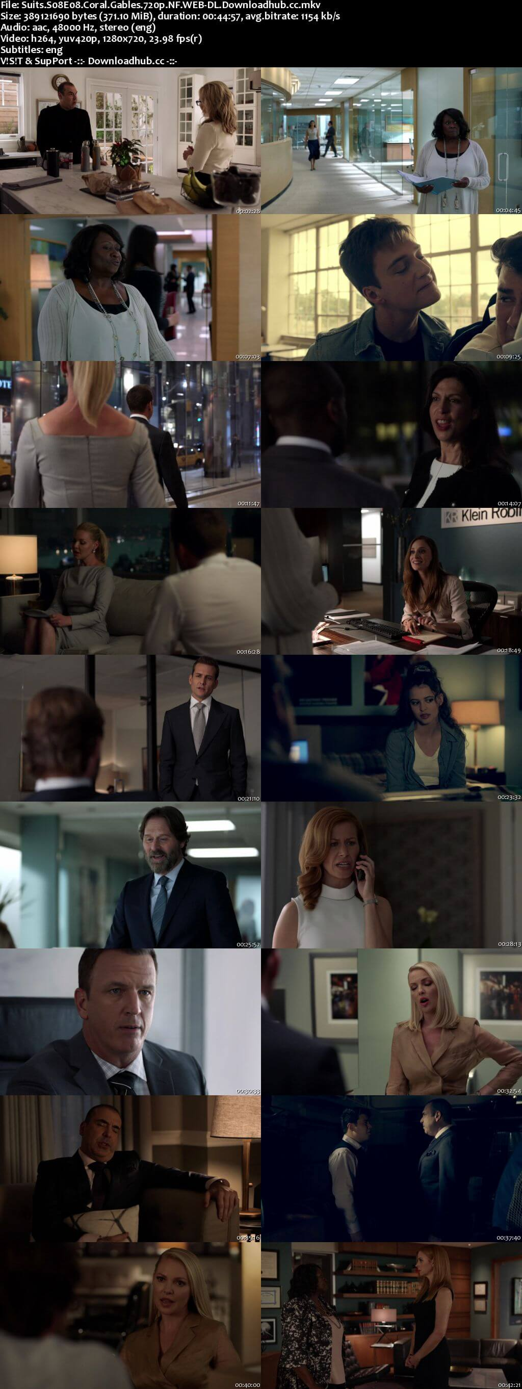 Suits S08E08 350MB Web-DL 720p x264 ESubs