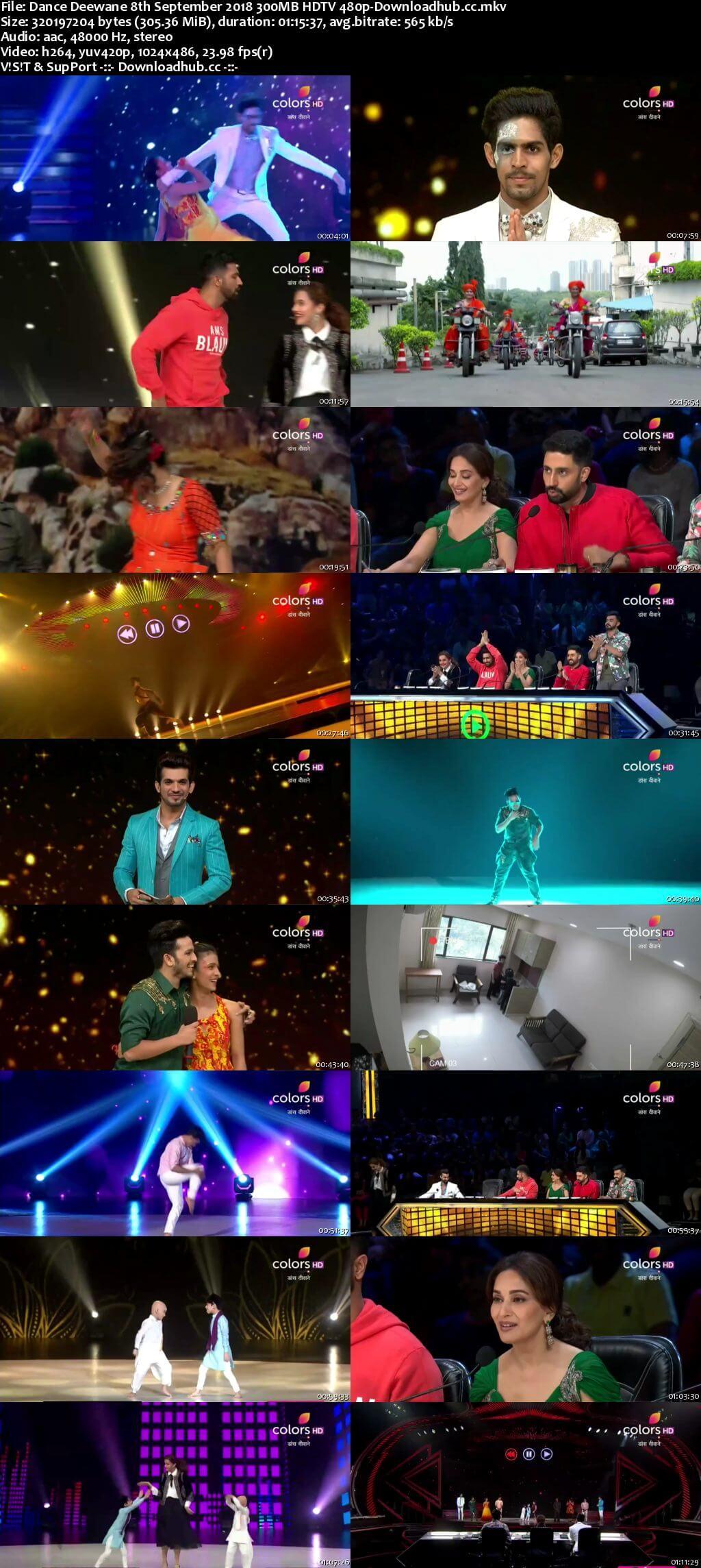 Dance Deewane 08 September 2018 Episode 28 HDTV 480p