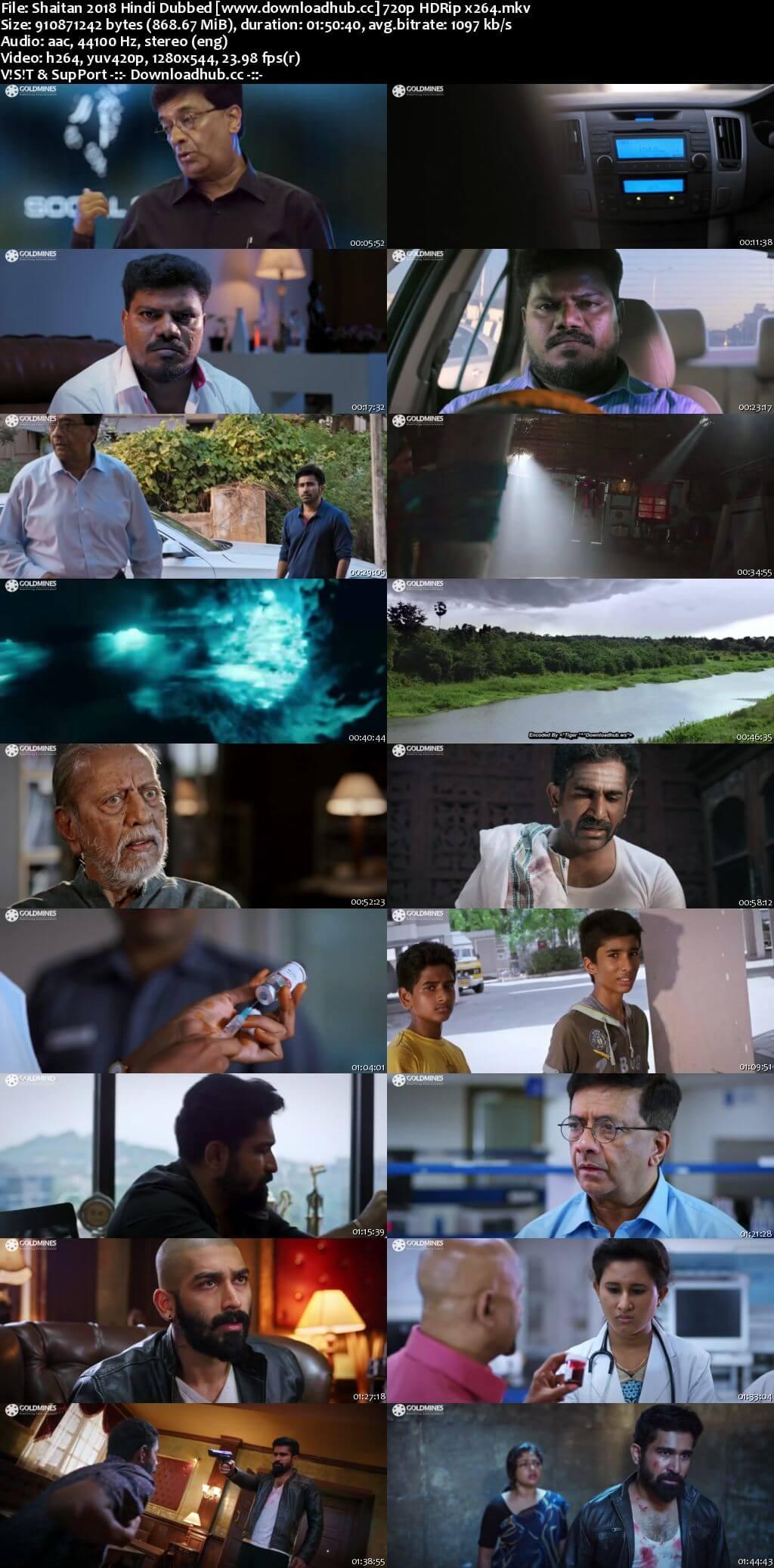 Shaitan 2018 Hindi Dubbed 720p HDRip x264