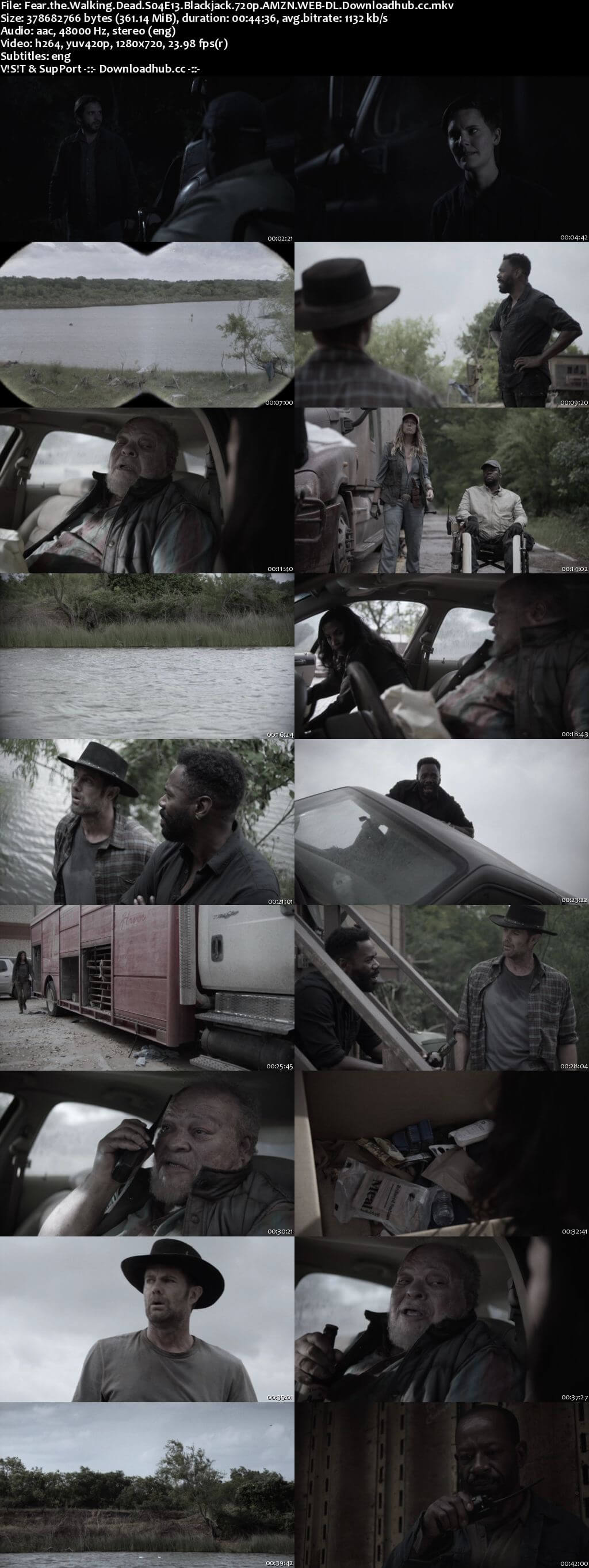 Fear the Walking Dead S04E13 350MB WEBRip 720p x264 ESubs