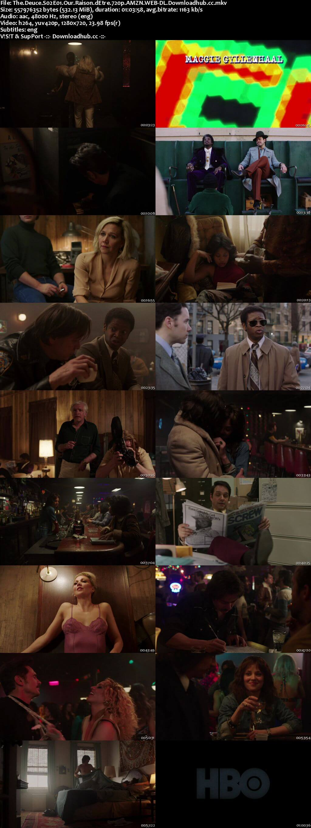The Deuce S02E01 500MB AMZN WEB-DL 720p ESubs