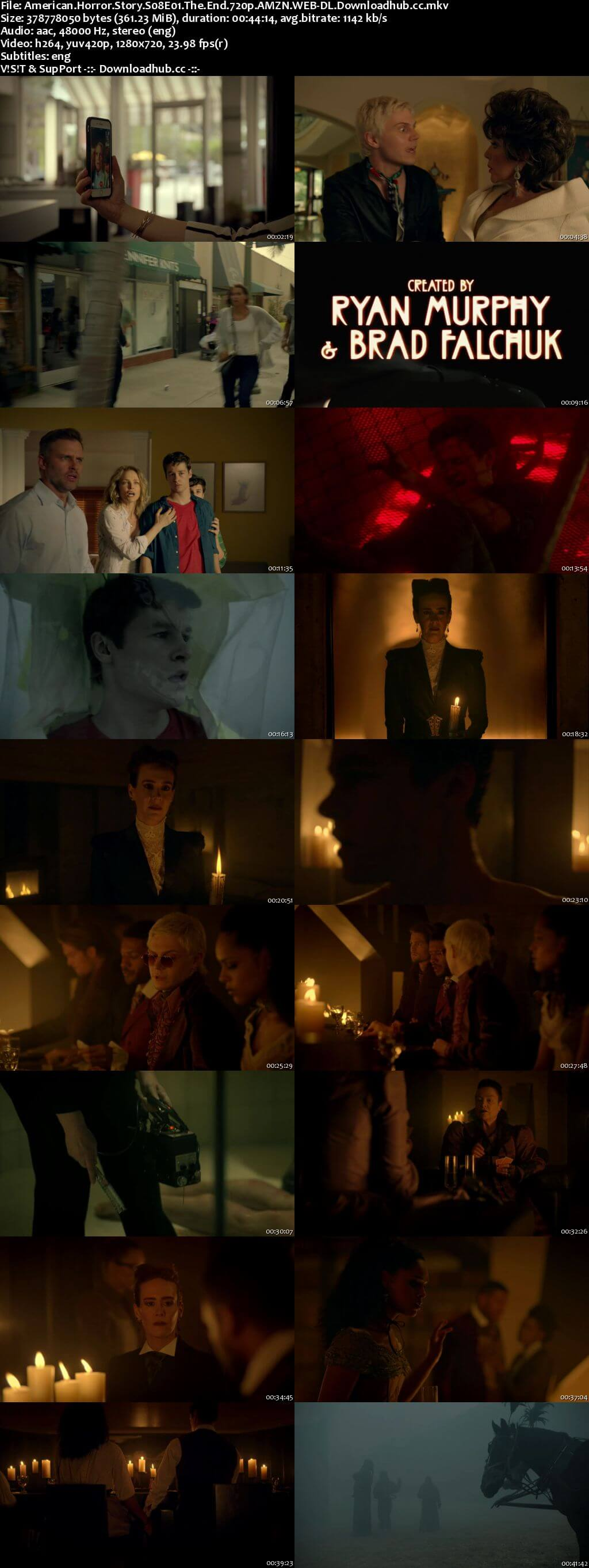 American Horror Story S08E01 350MB AMZN WEB-DL 720p ESubs