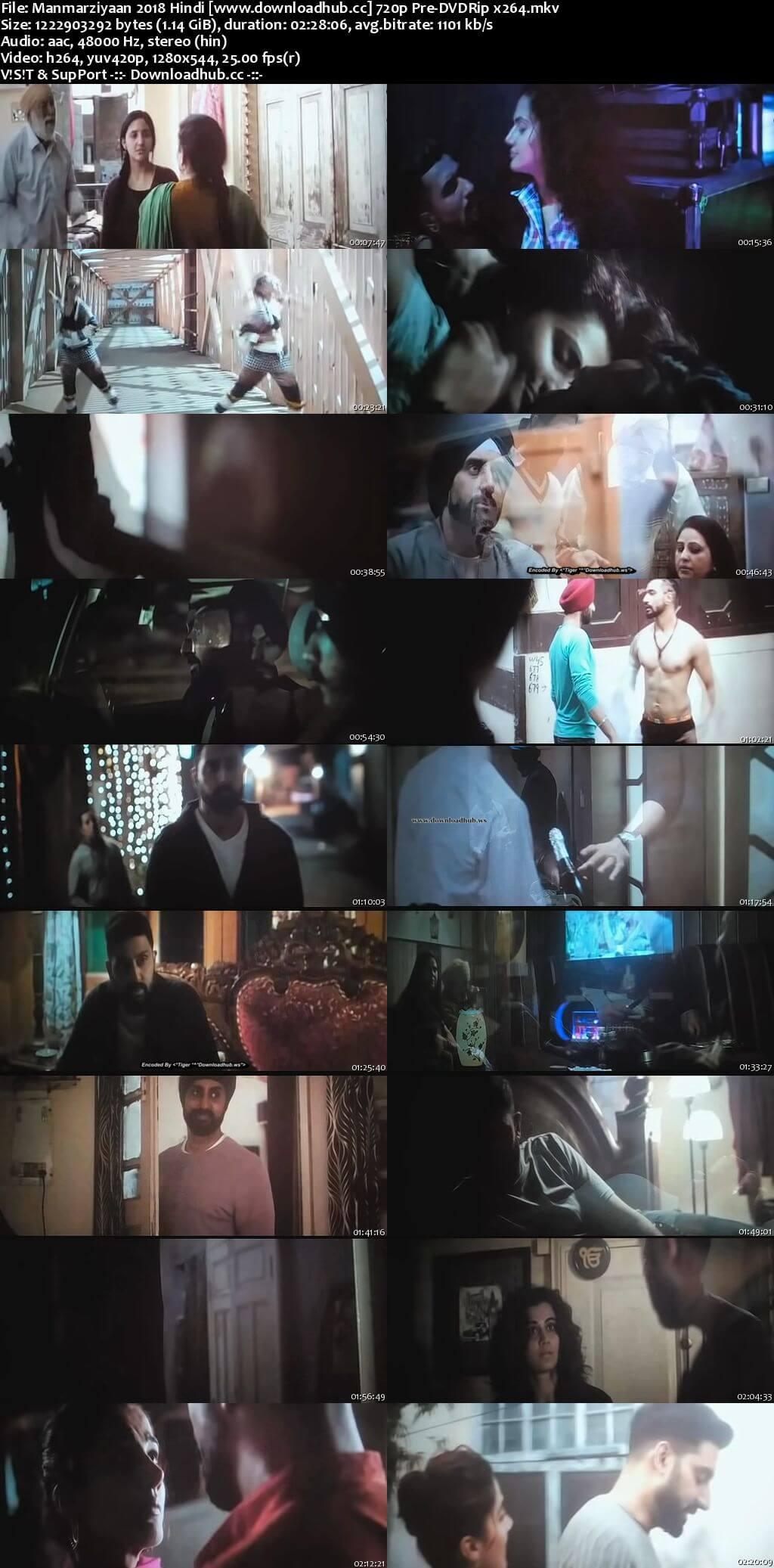 Manmarziyaan 2018 Hindi 720p Pre-DVDRip x264