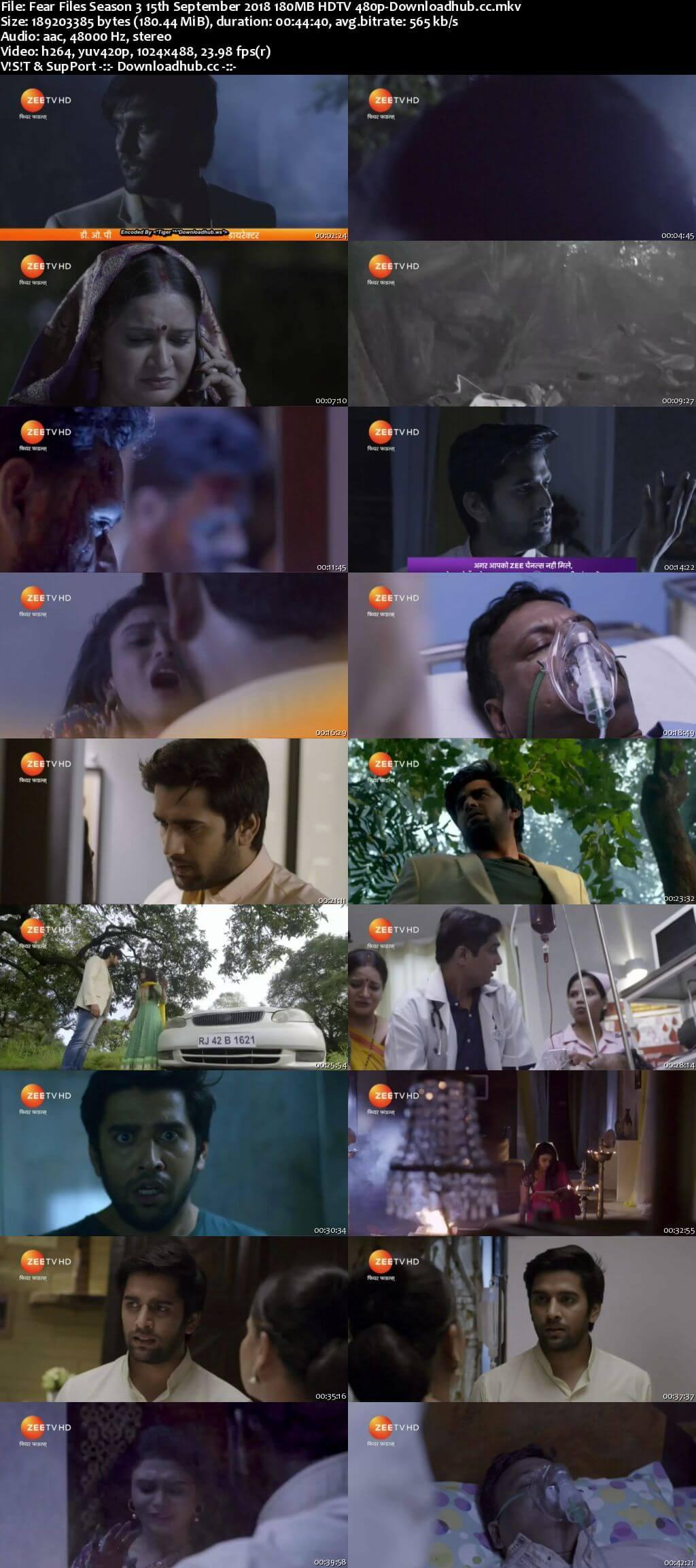 Fear Files Season 3 15th September 2018 180MB HDTV 480p