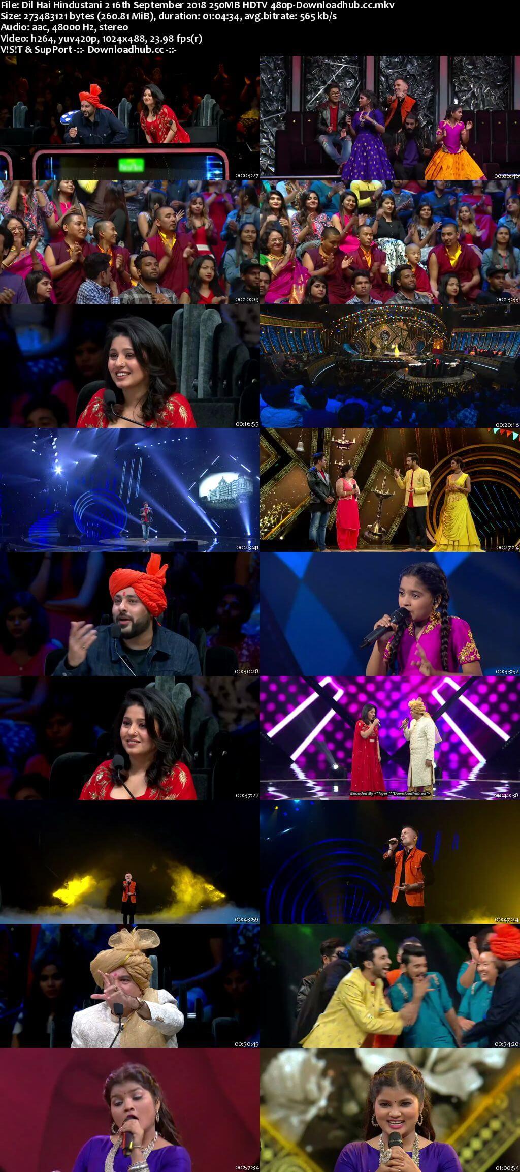 Dil Hai Hindustani 2 16 September 2018 Episode 22 HDTV 480p