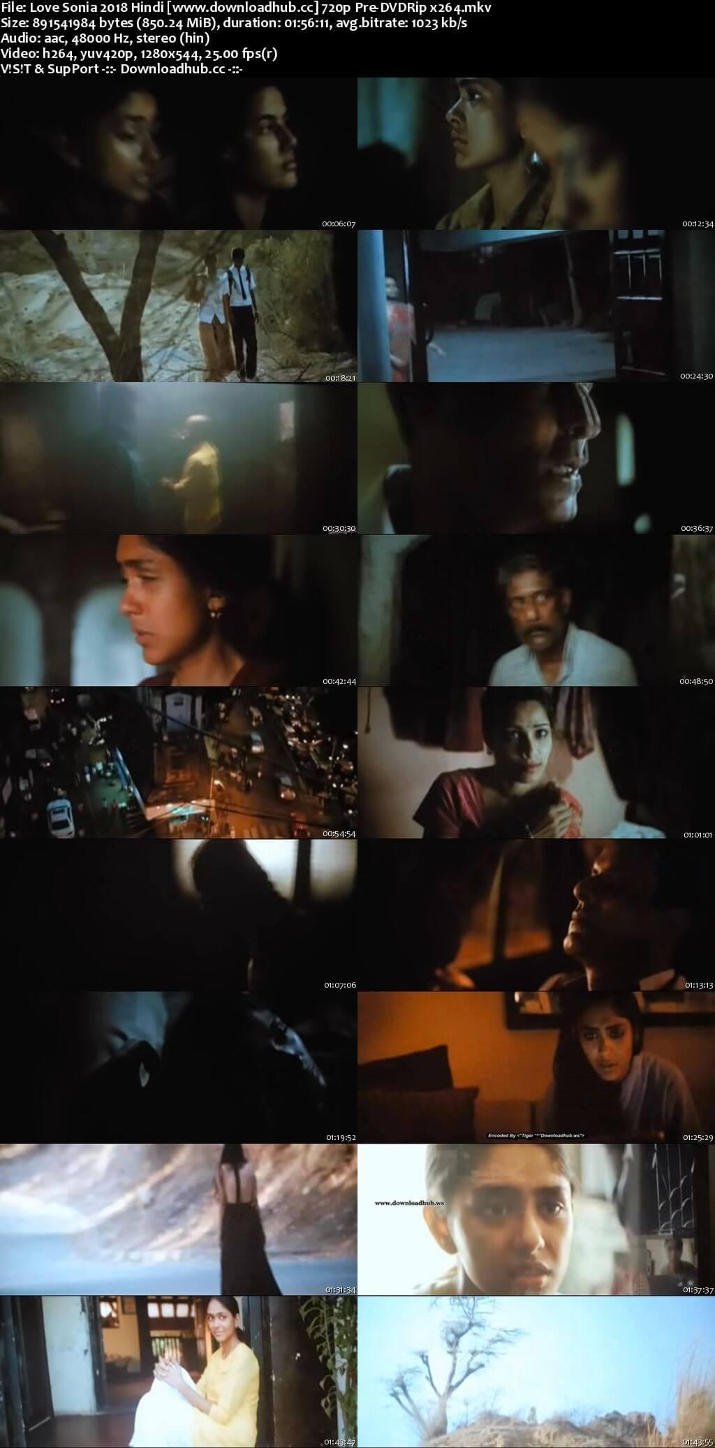 Love Sonia 2018 Hindi 720p Pre-DVDRip x264