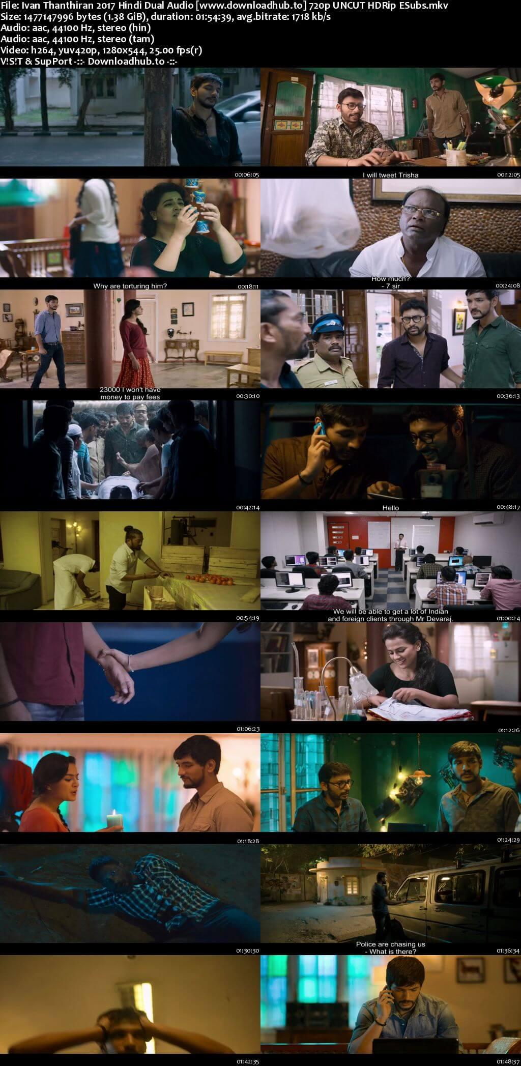 Ivan Thanthiran 2017 Hindi Dual Audio 720p UNCUT HDRip ESubs