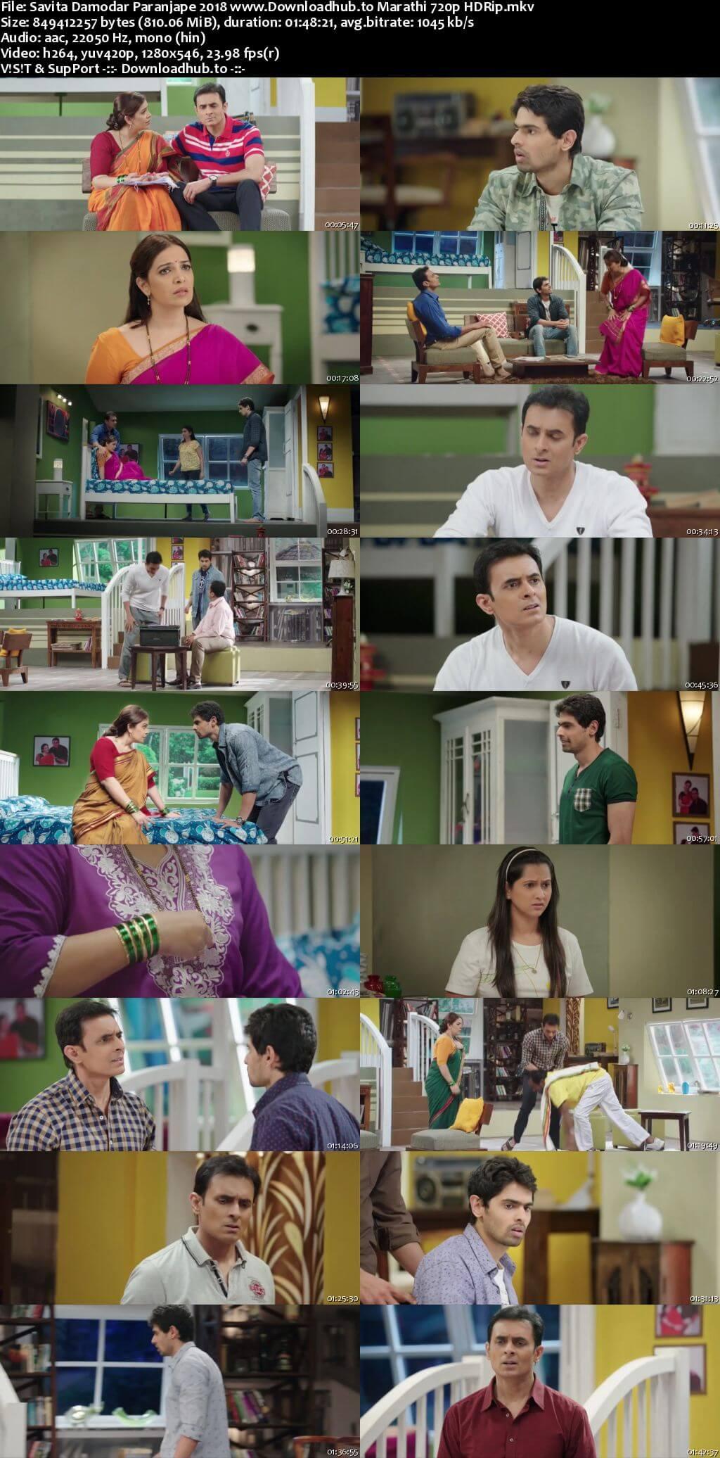 Savita Damodar Paranjpe 2018 Marathi 720p HDRip