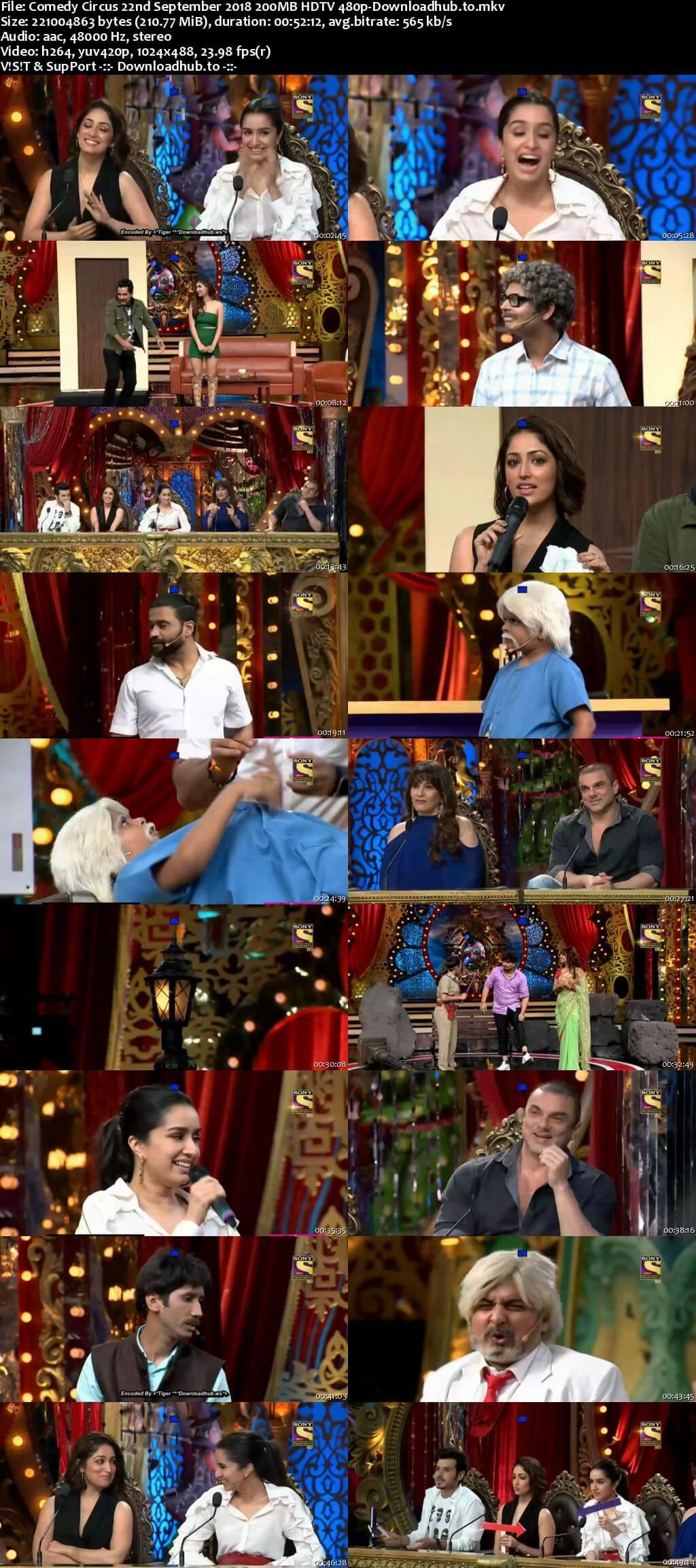 Comedy Circus 22 September 2018 Episode 03 HDTV 480p