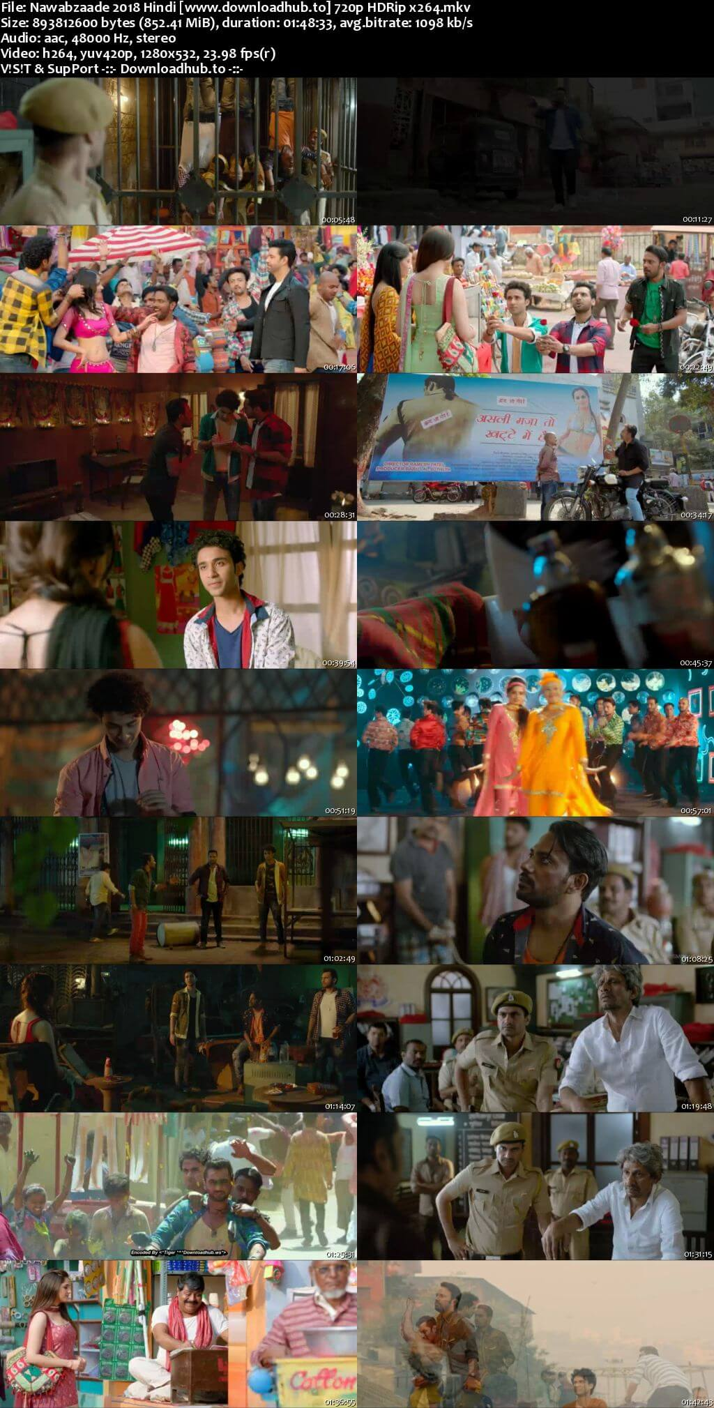 Nawabzaade 2018 Hindi 720p HDRip