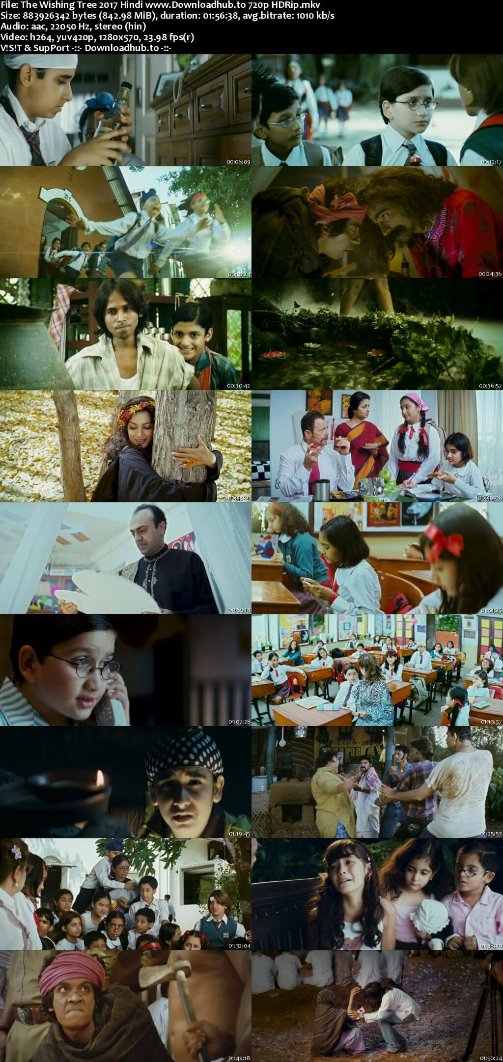 The Wishing Tree 2017 Hindi 720p HDRip