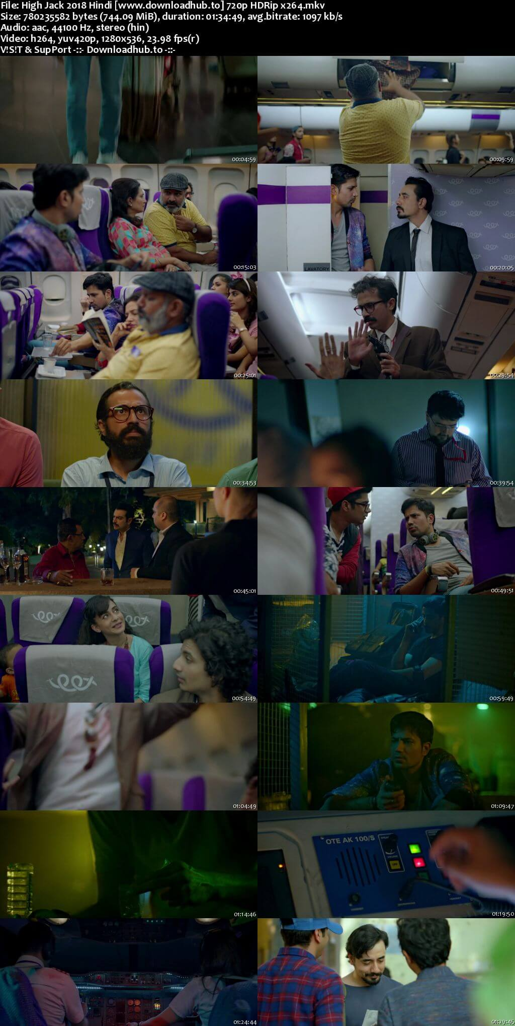 High Jack 2018 Hindi 720p HDRip