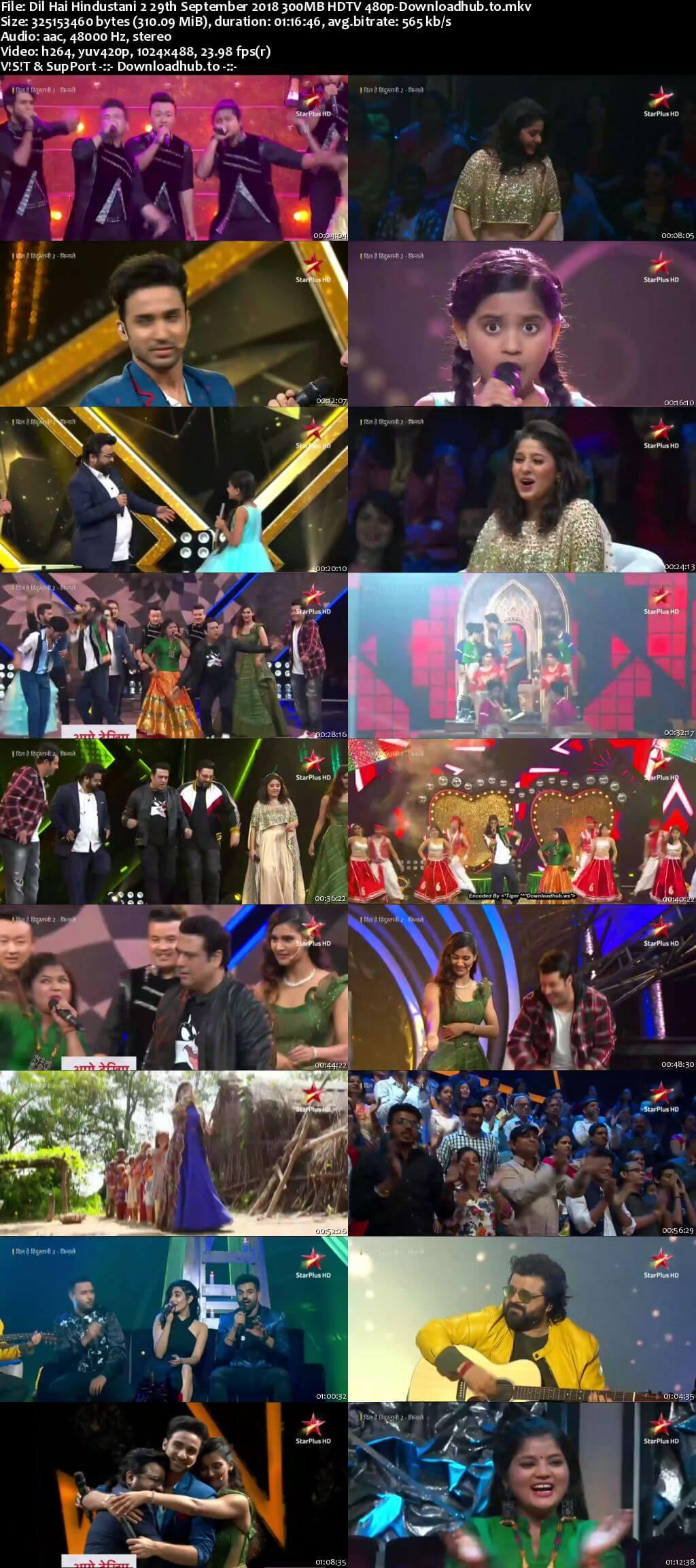 Dil Hai Hindustani 2 29 September 2018 Episode 25 HDTV 480p