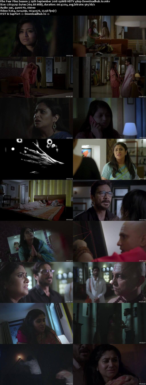 Fear Files Season 3 29th September 2018 150MB HDTV 480p