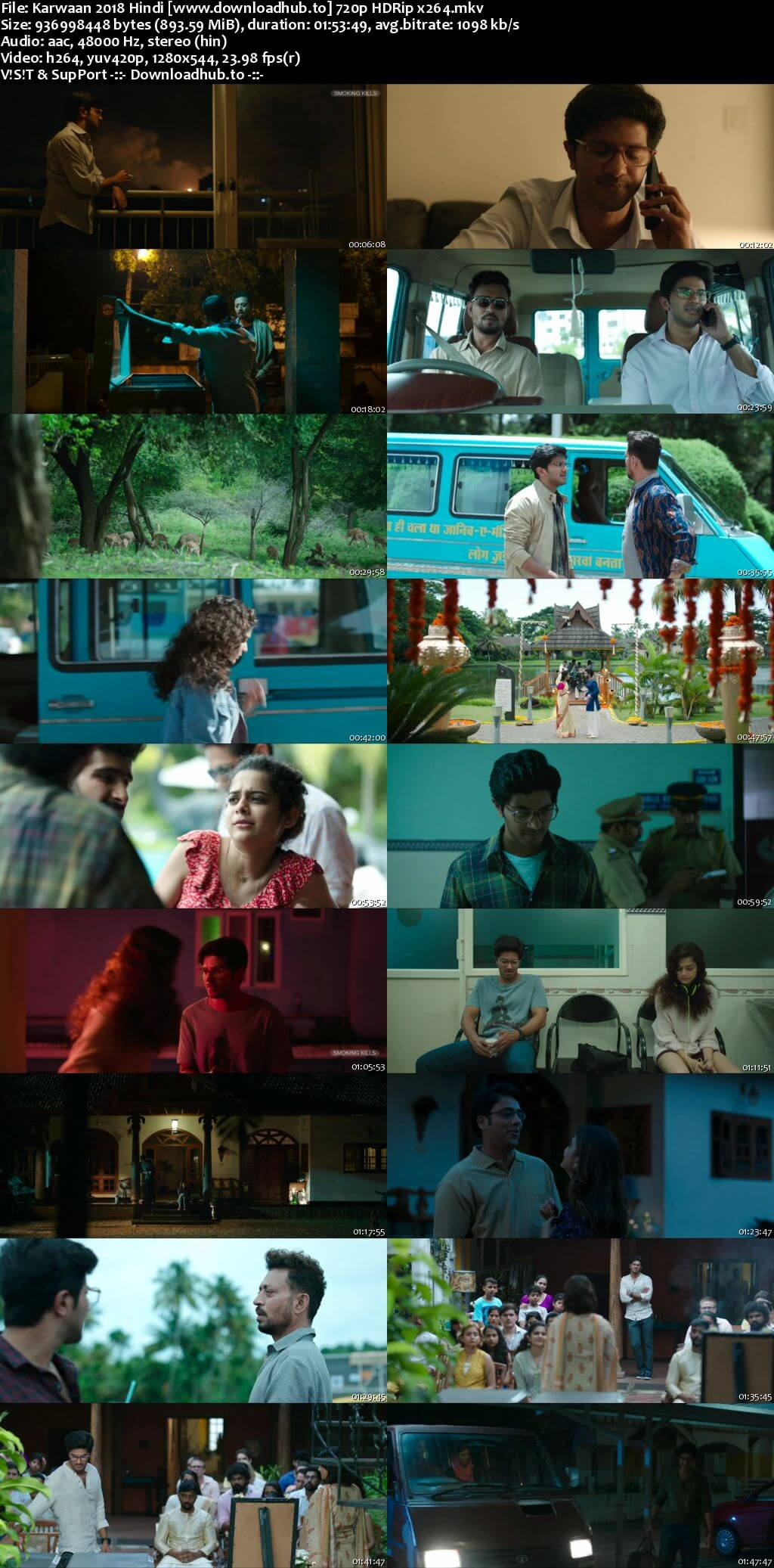 Karwaan 2018 Hindi 720p HDRip