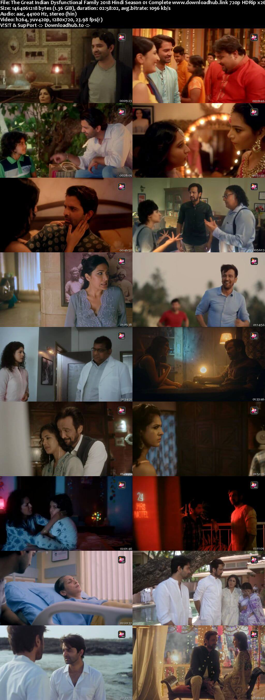 The Great Indian Dysfunctional Family 2018 Hindi Season 01 Complete 720p HDRip x264